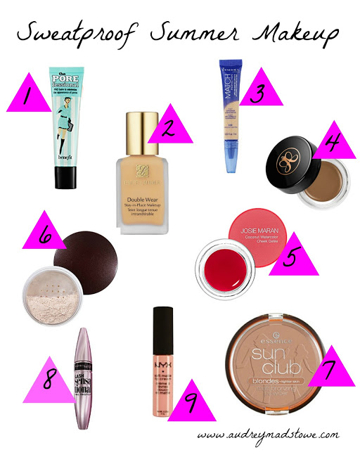 Sweat Proof Summer Makeup