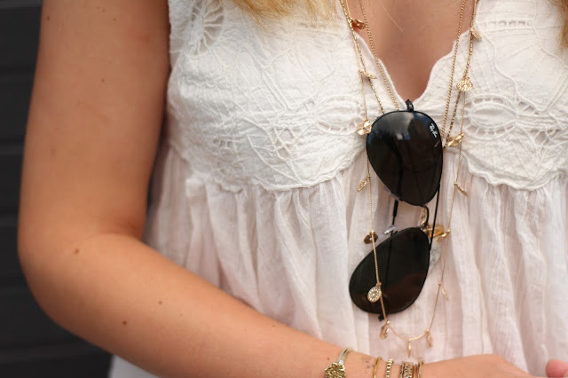 details on bohemian outfit