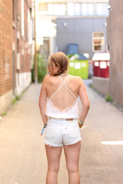 open back for a bohemian look