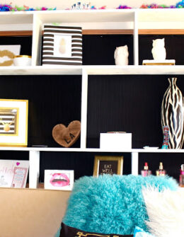 Texas Tech Dorm Rooms Tour by popular Texas lifestyle blogger Audrey Madison Stowe