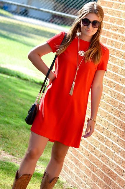 red dress from zara