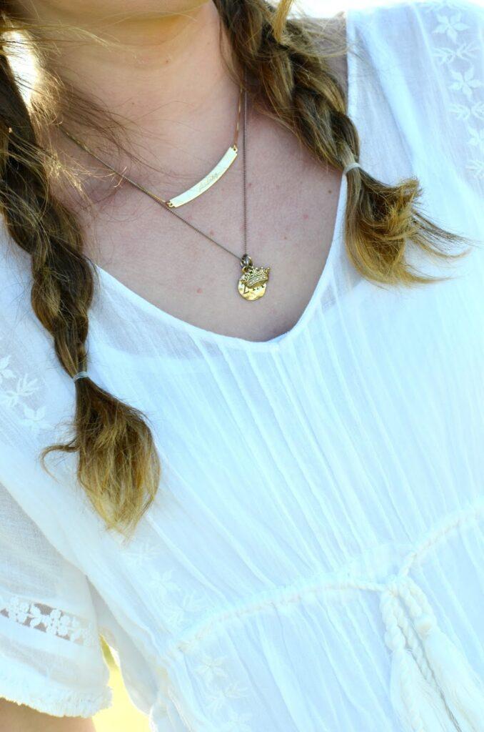 Onecklace monogram