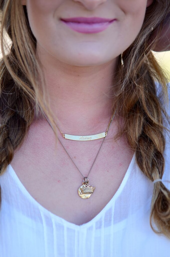close up of Necklace