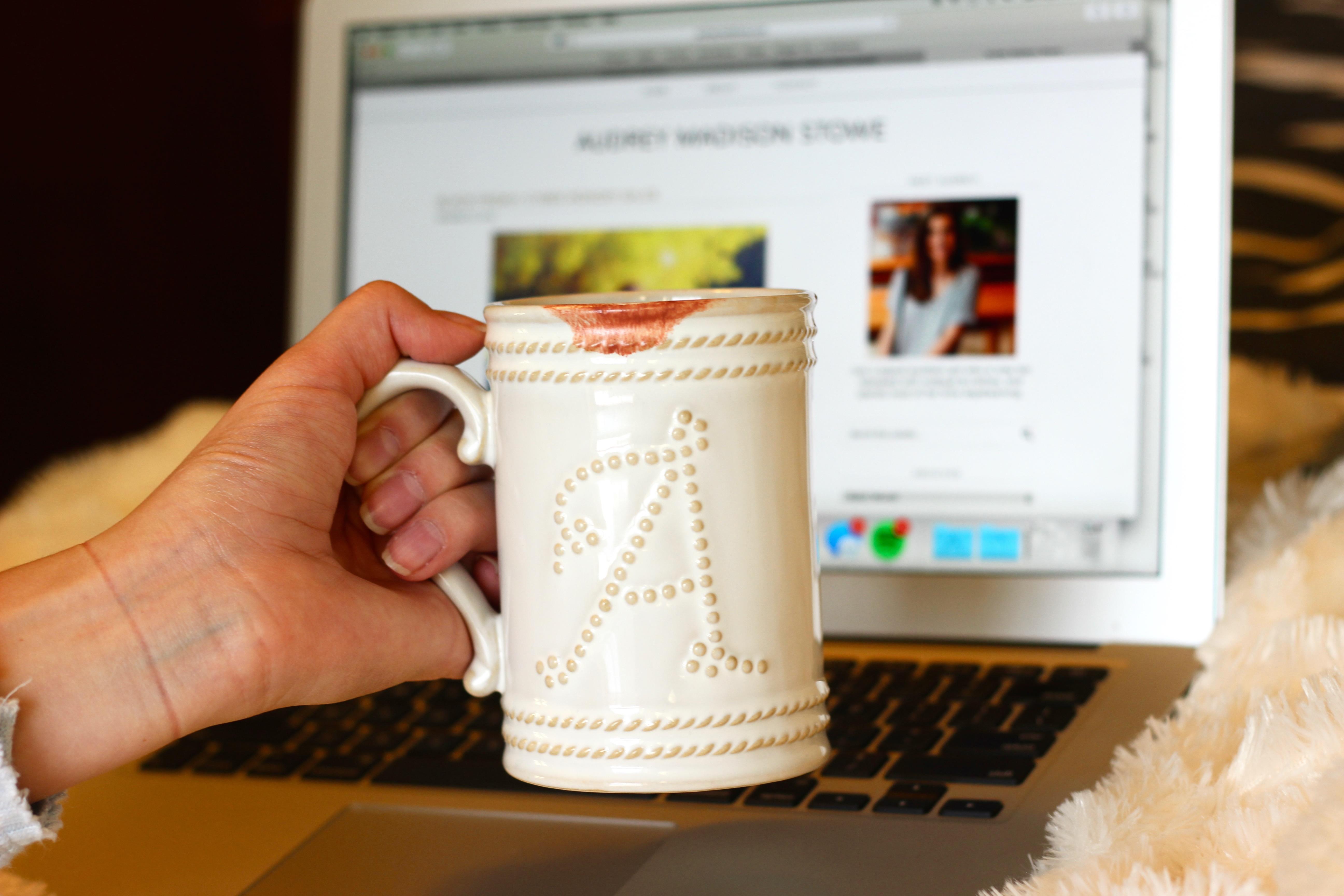 lipstick on a mug creative