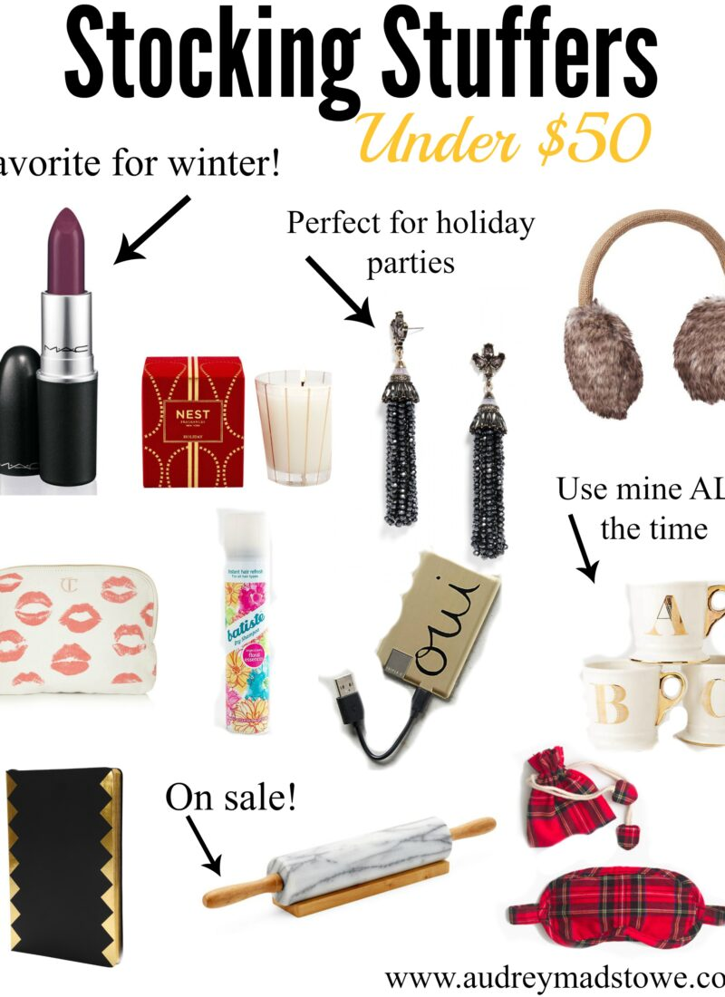Stocking Stuffers: Under $50