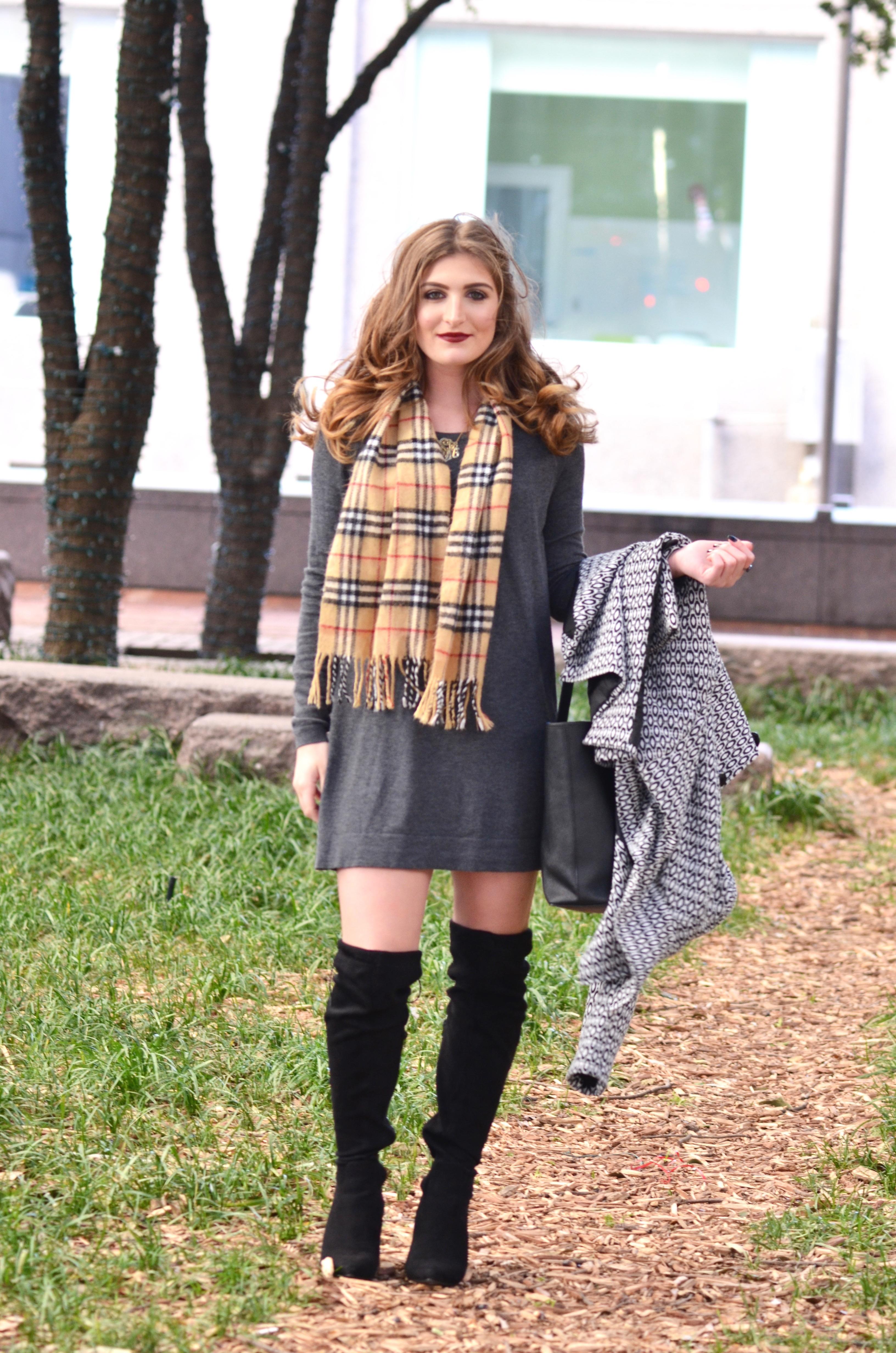 fashion on a windy day