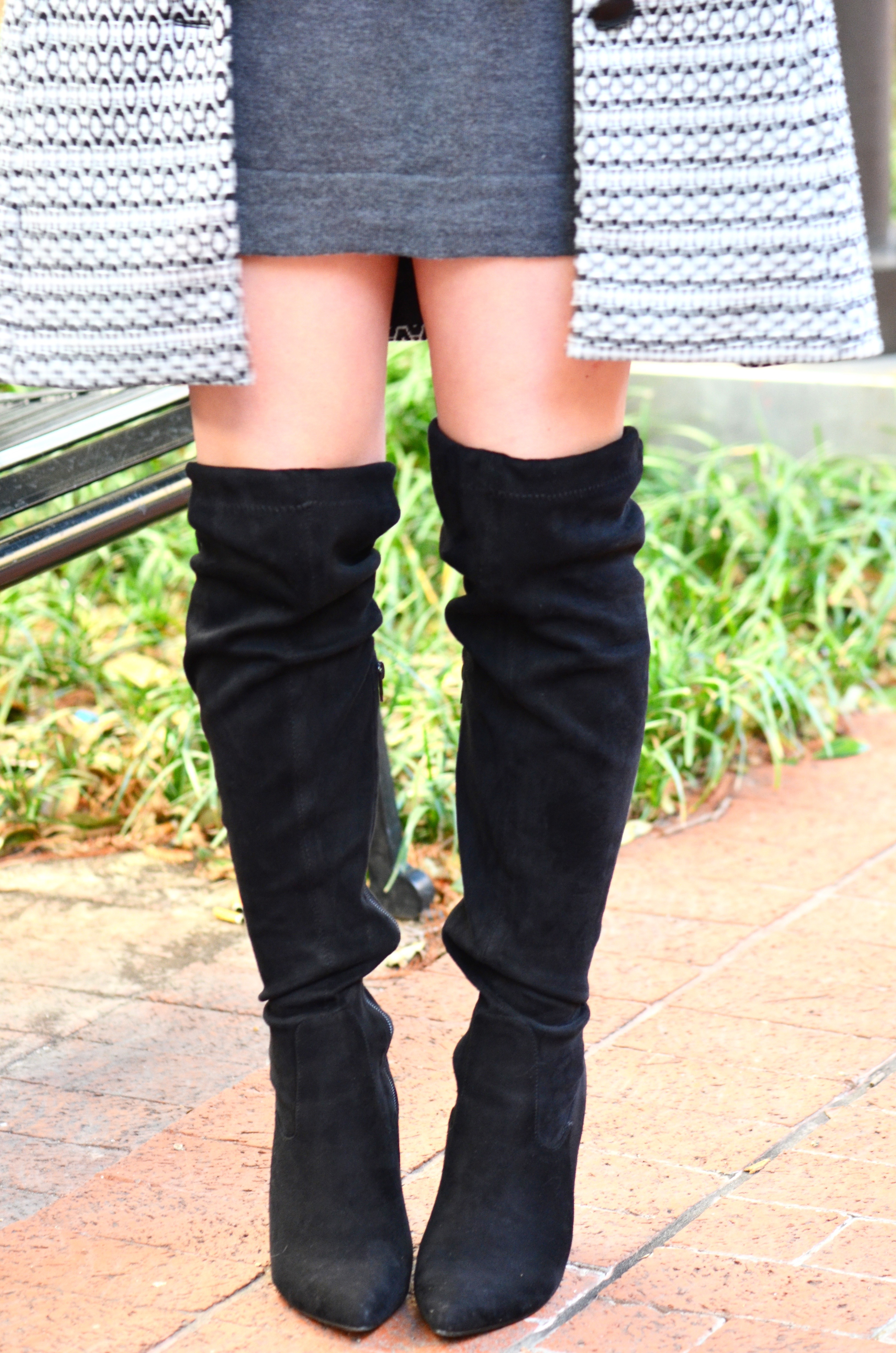 over the knee boots for high fashion