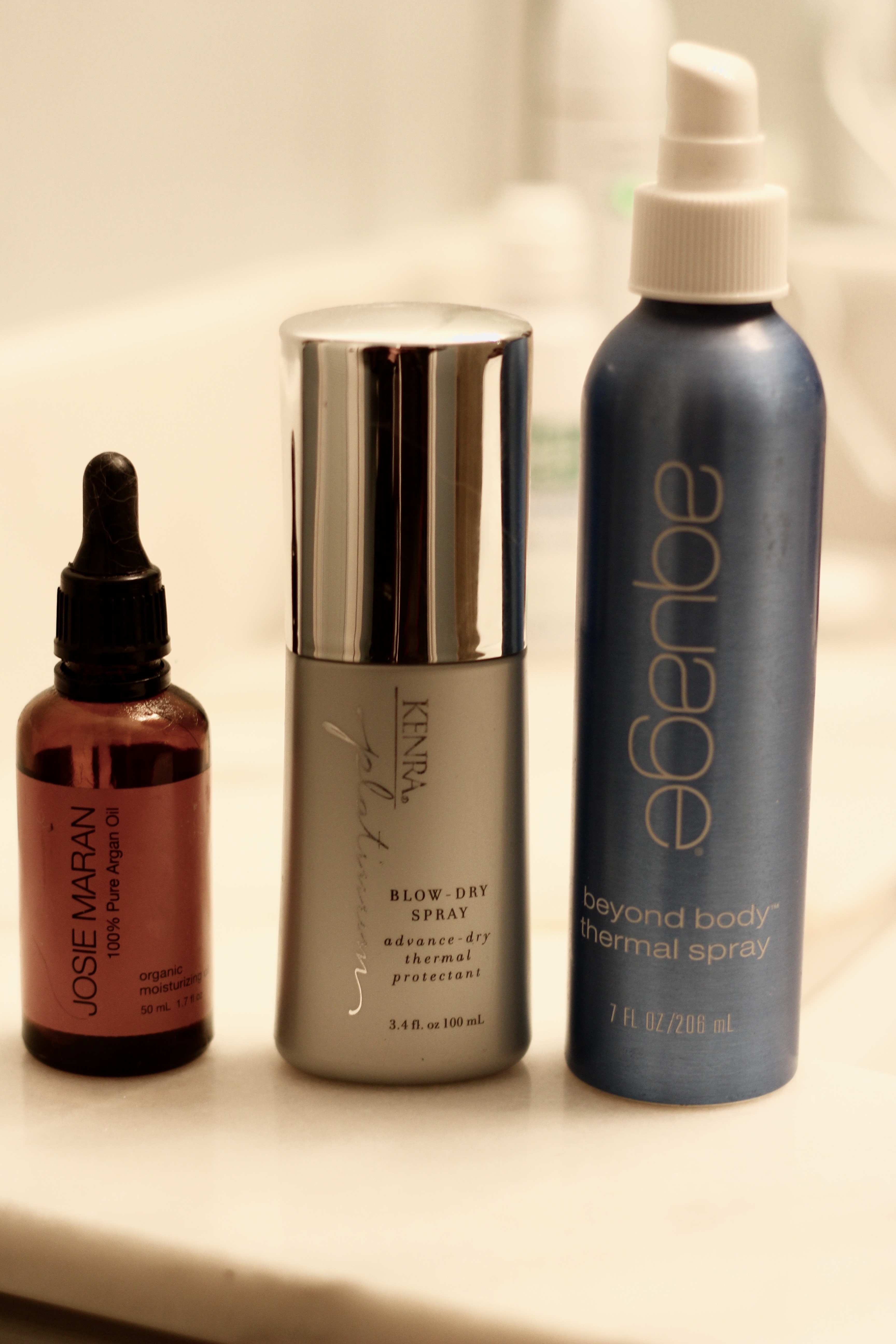 blow dry products for smooth hair