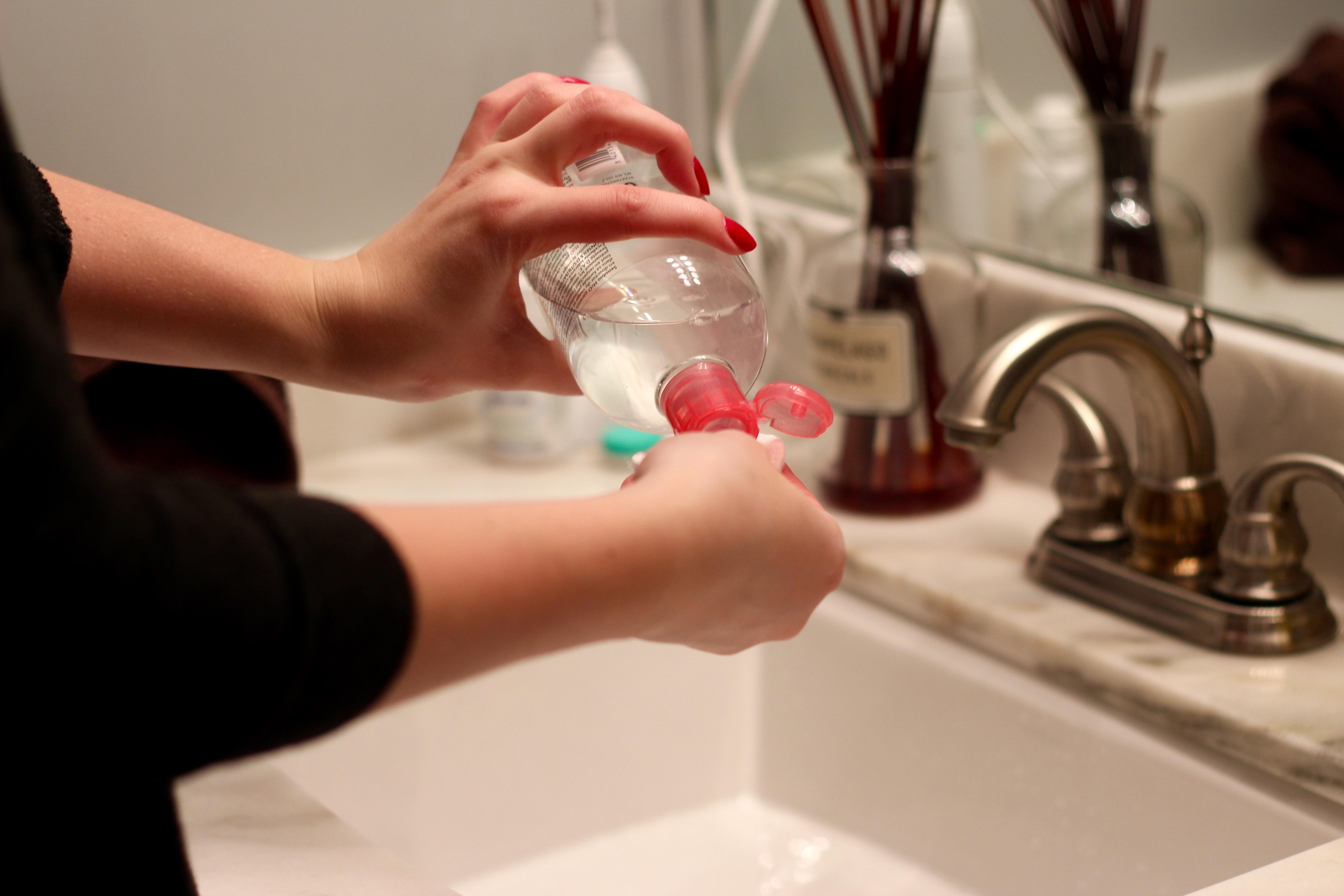 bioderma toner for clean skin