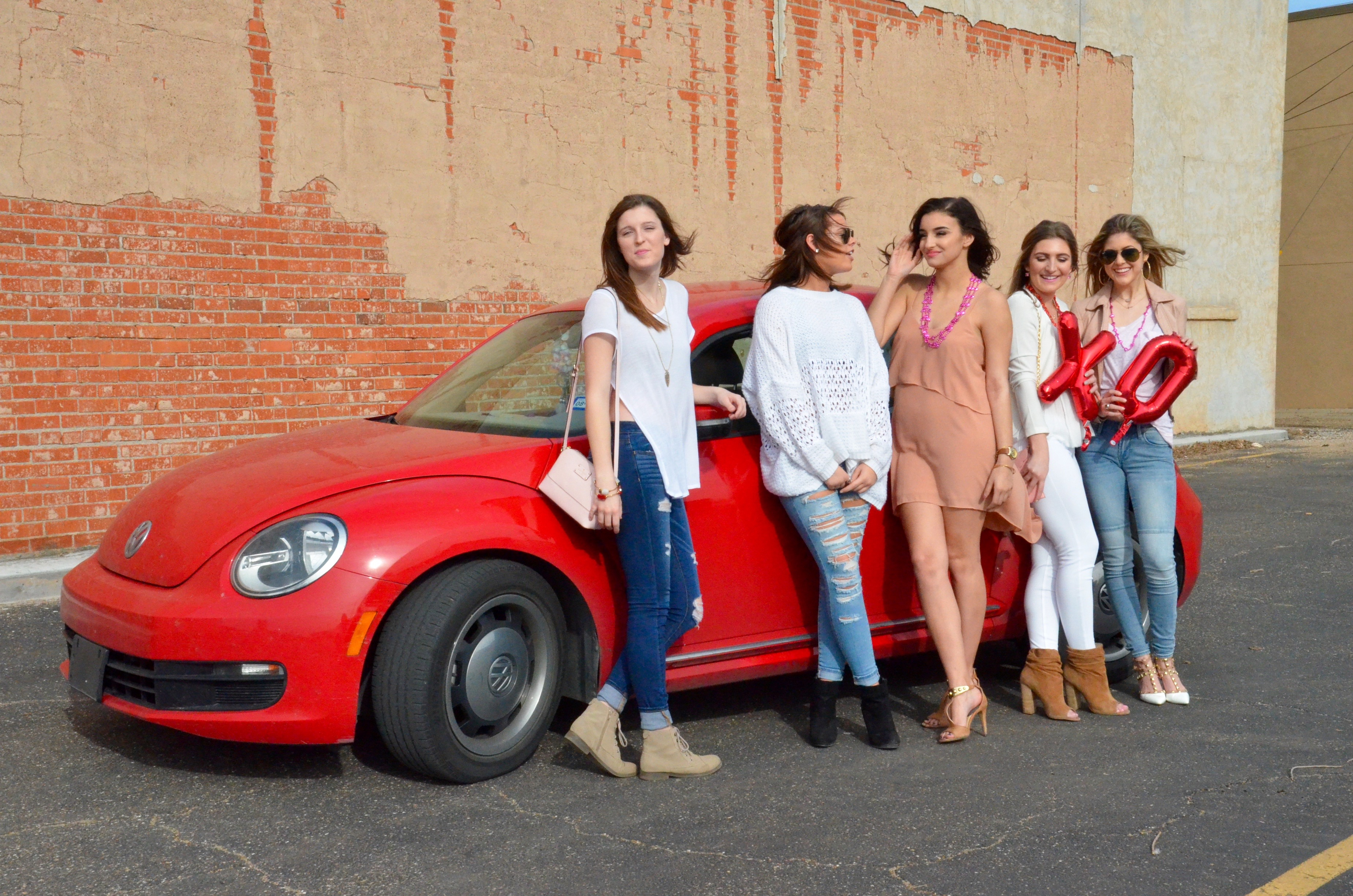 valentines day shoot with your girlfriends
