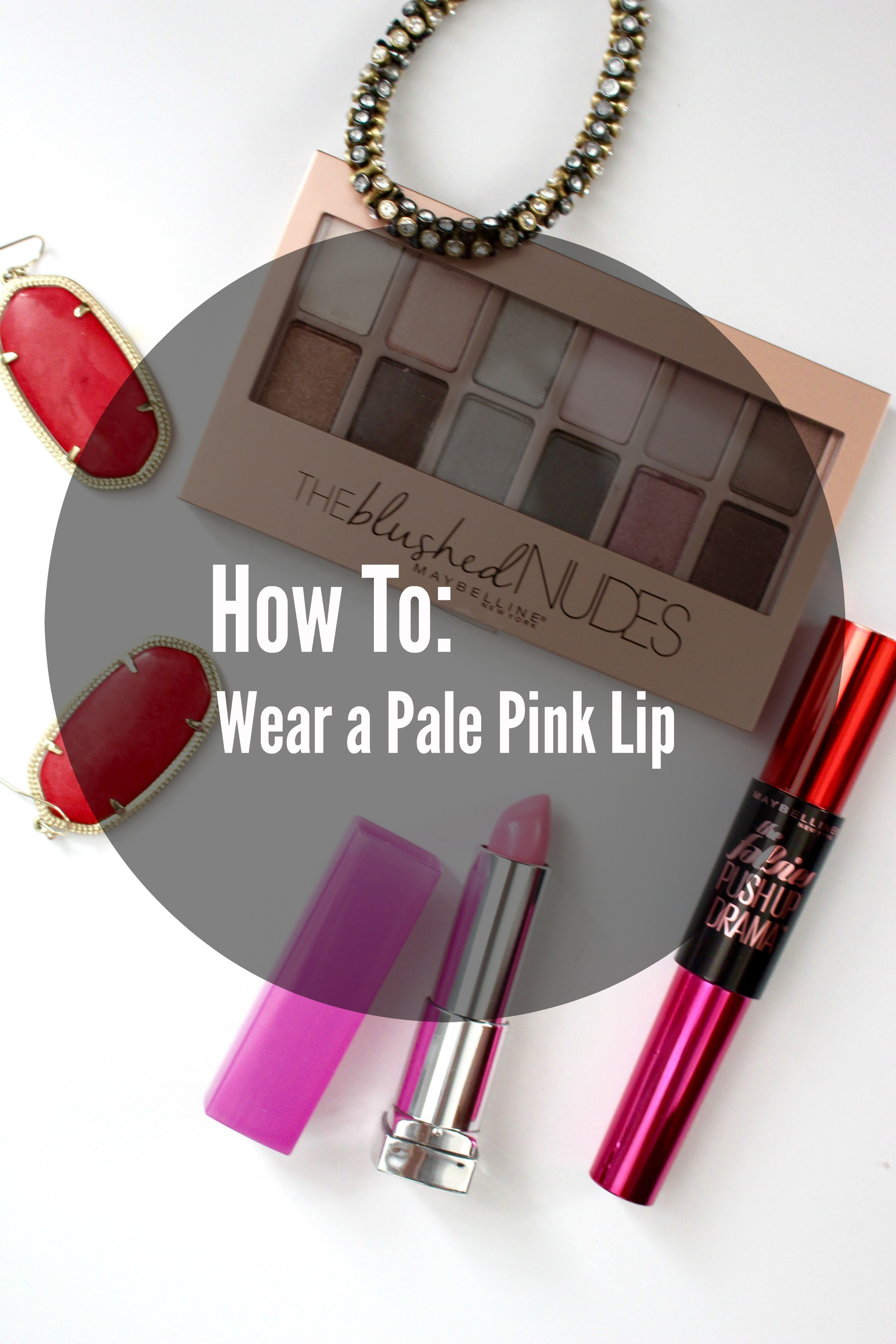 How To Wear a Pale Pink Lip