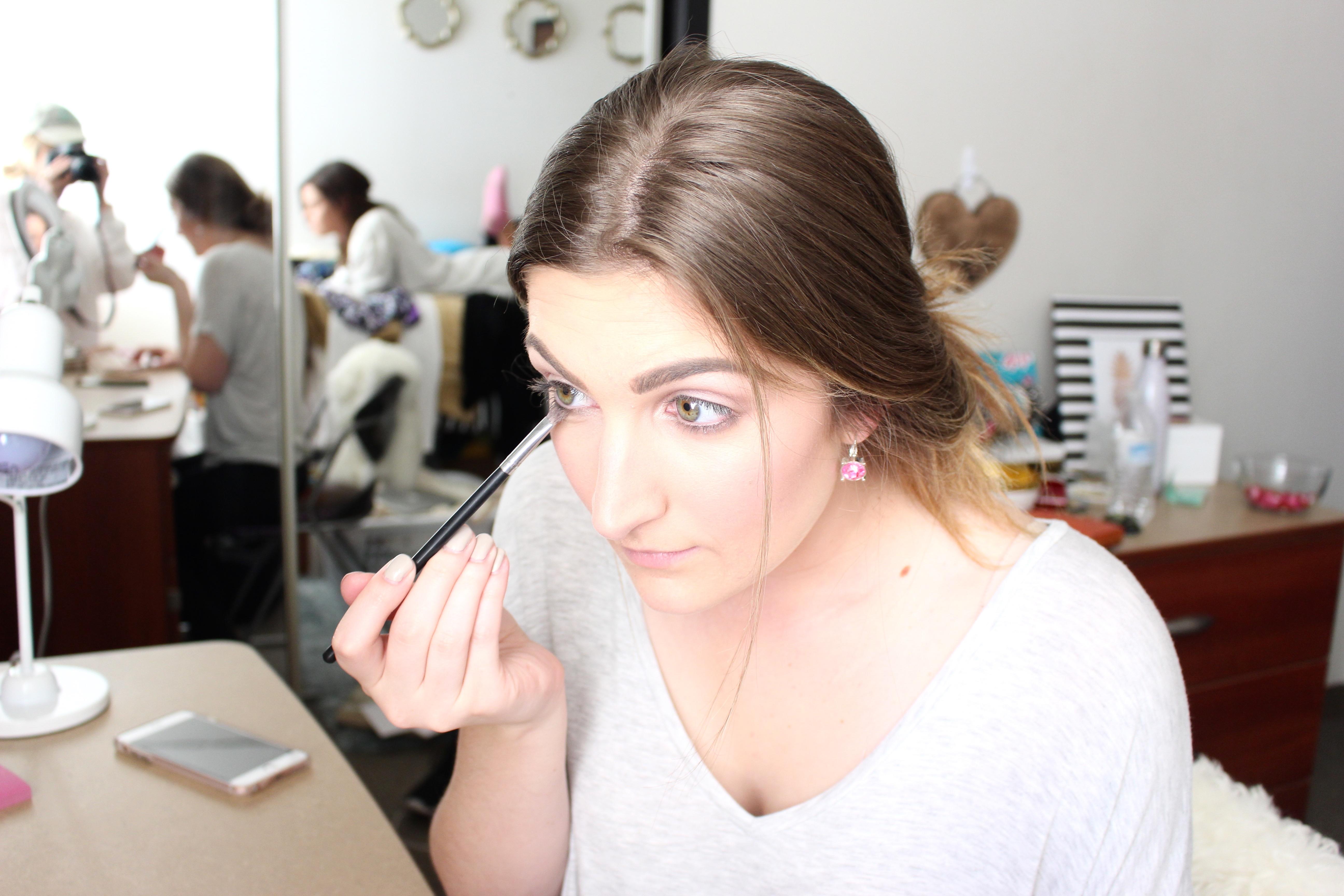 blushed nudes neutral eye color makeup