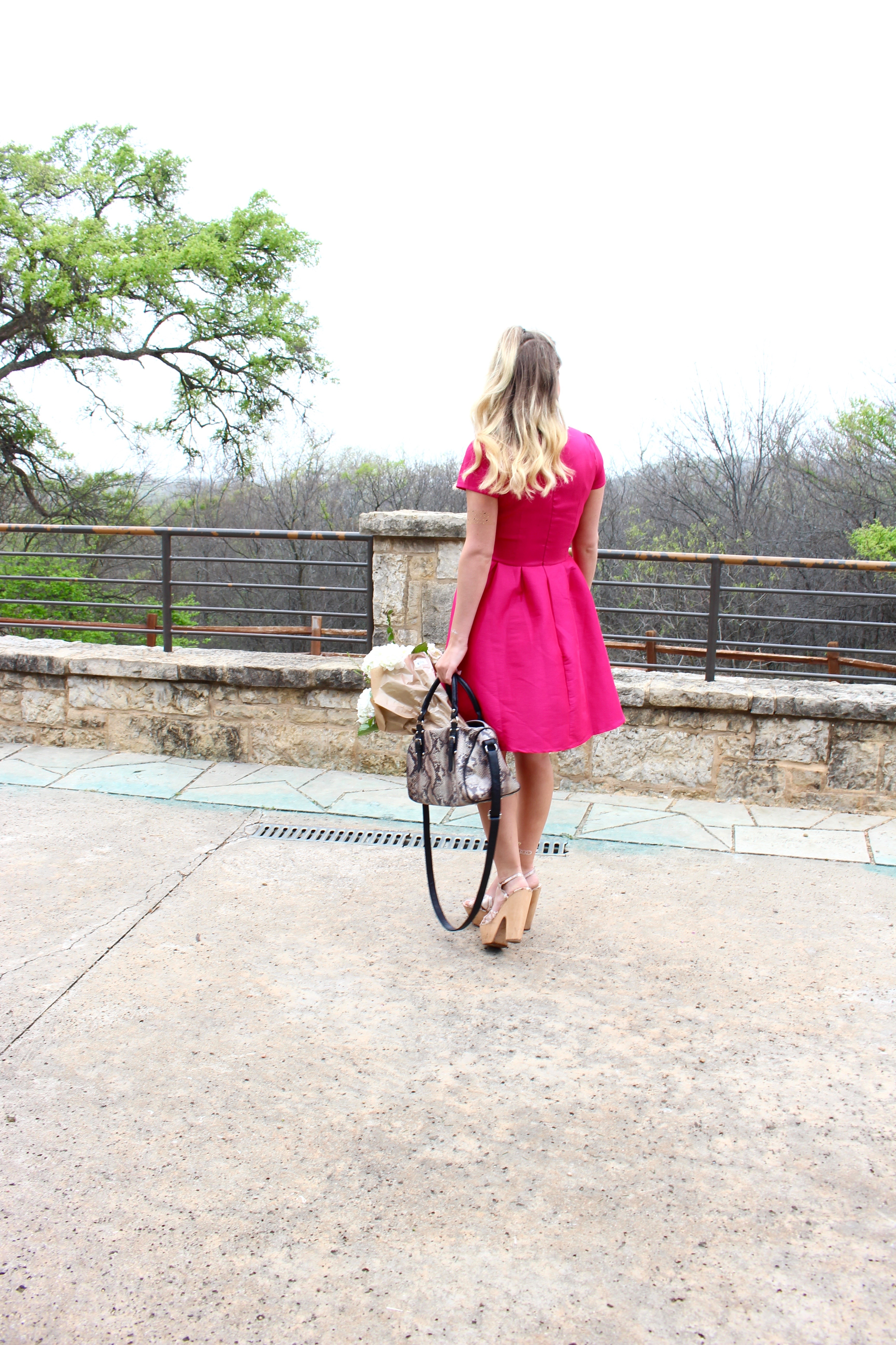shabby apple hot pink dress for fashion