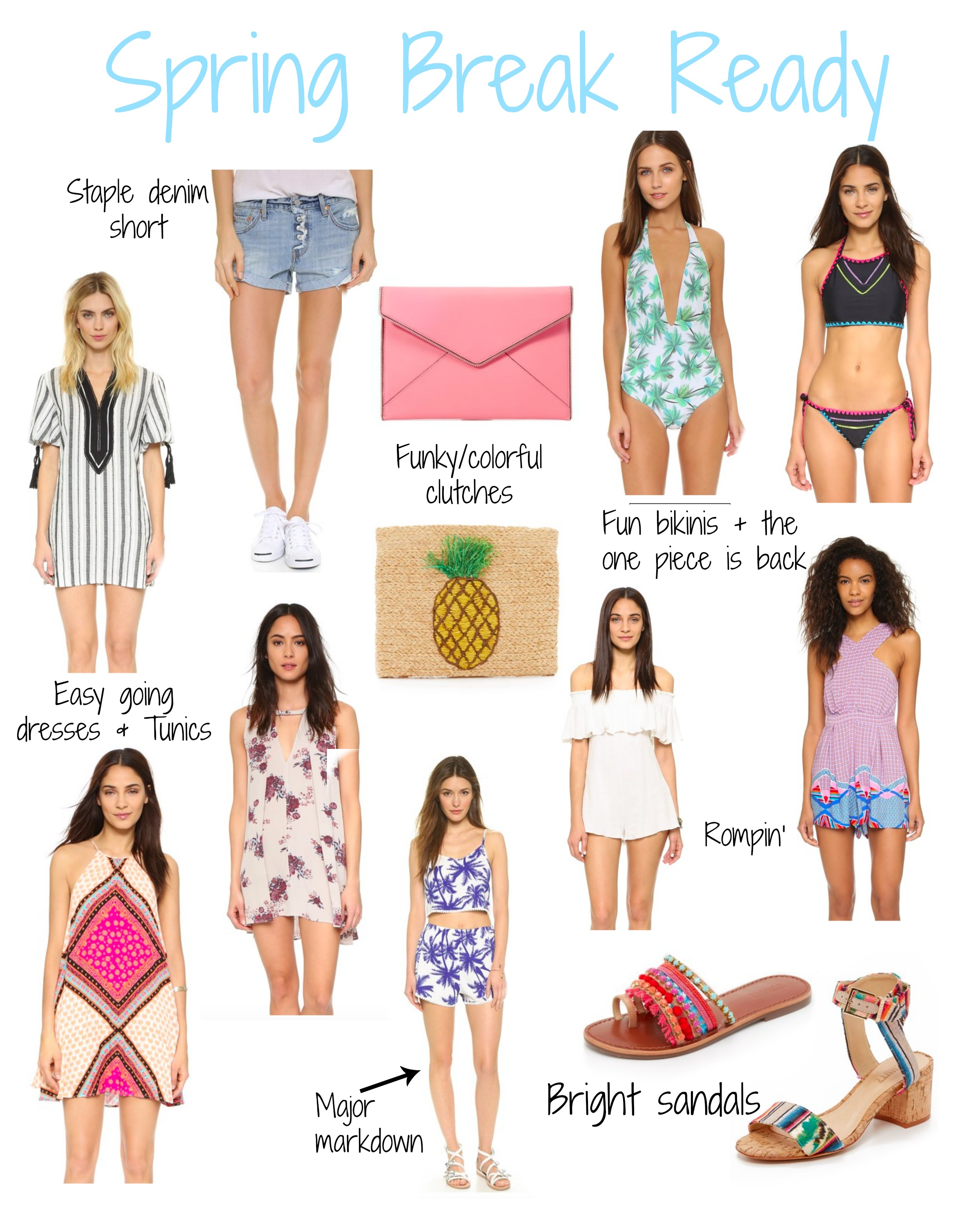 shop bop spring sale for spring break