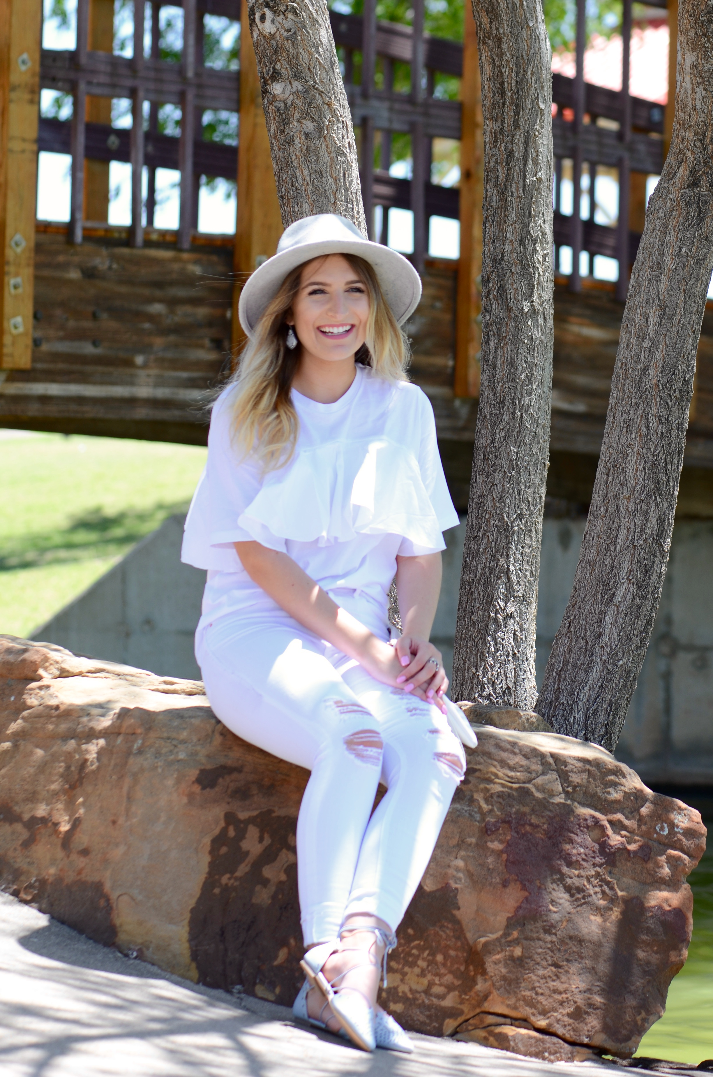 asos all white outfit