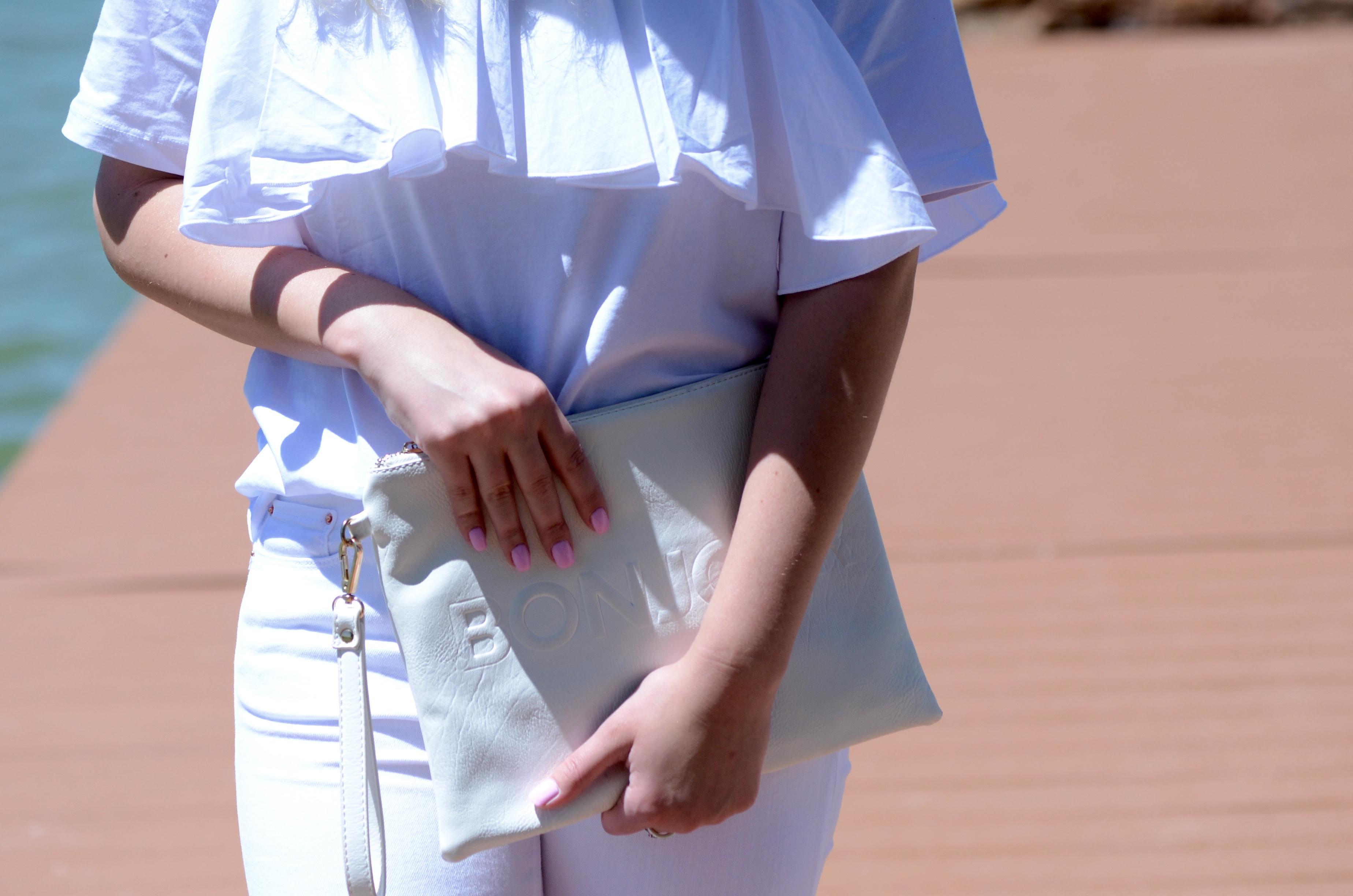 all white on white details