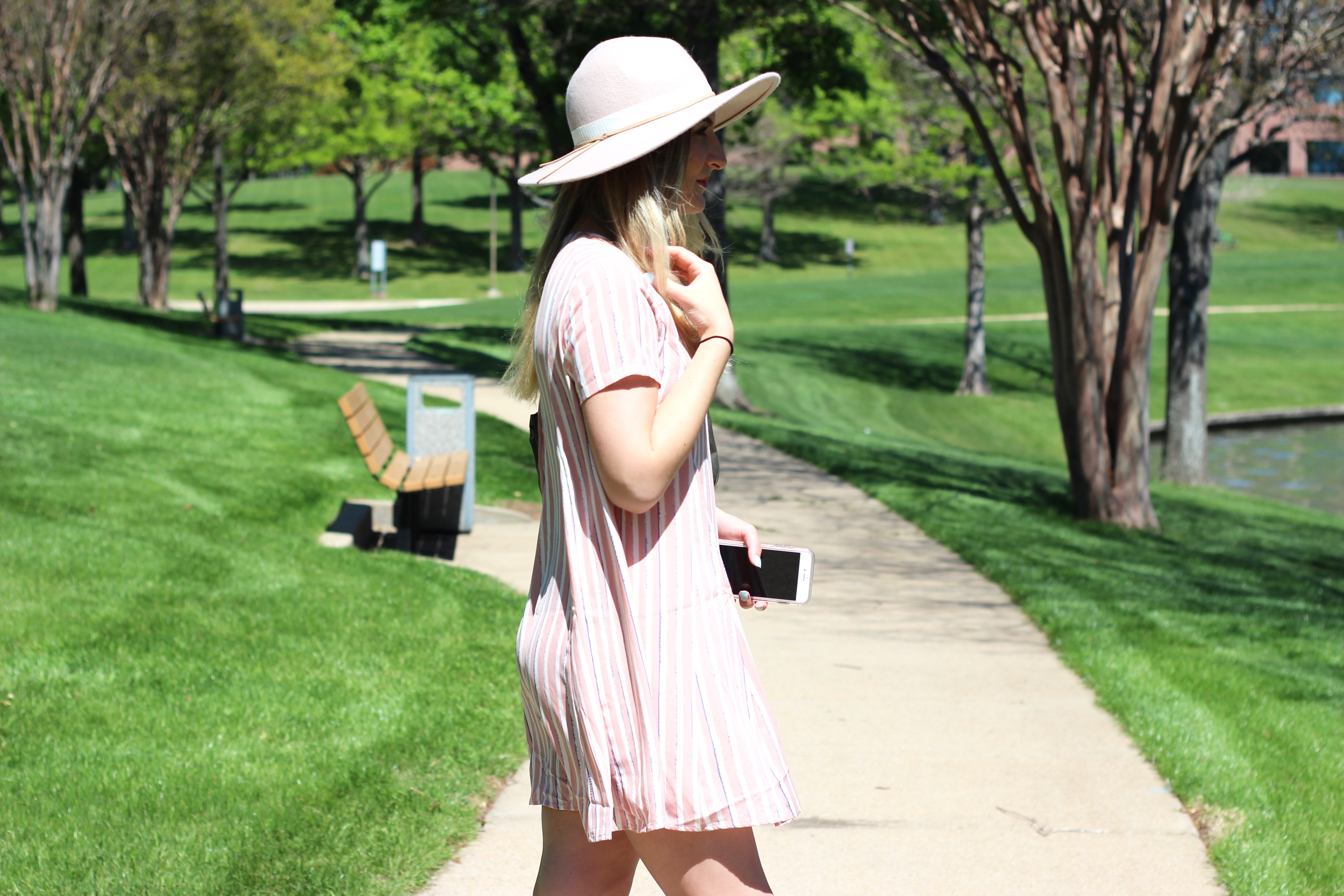pink pastels outfit look