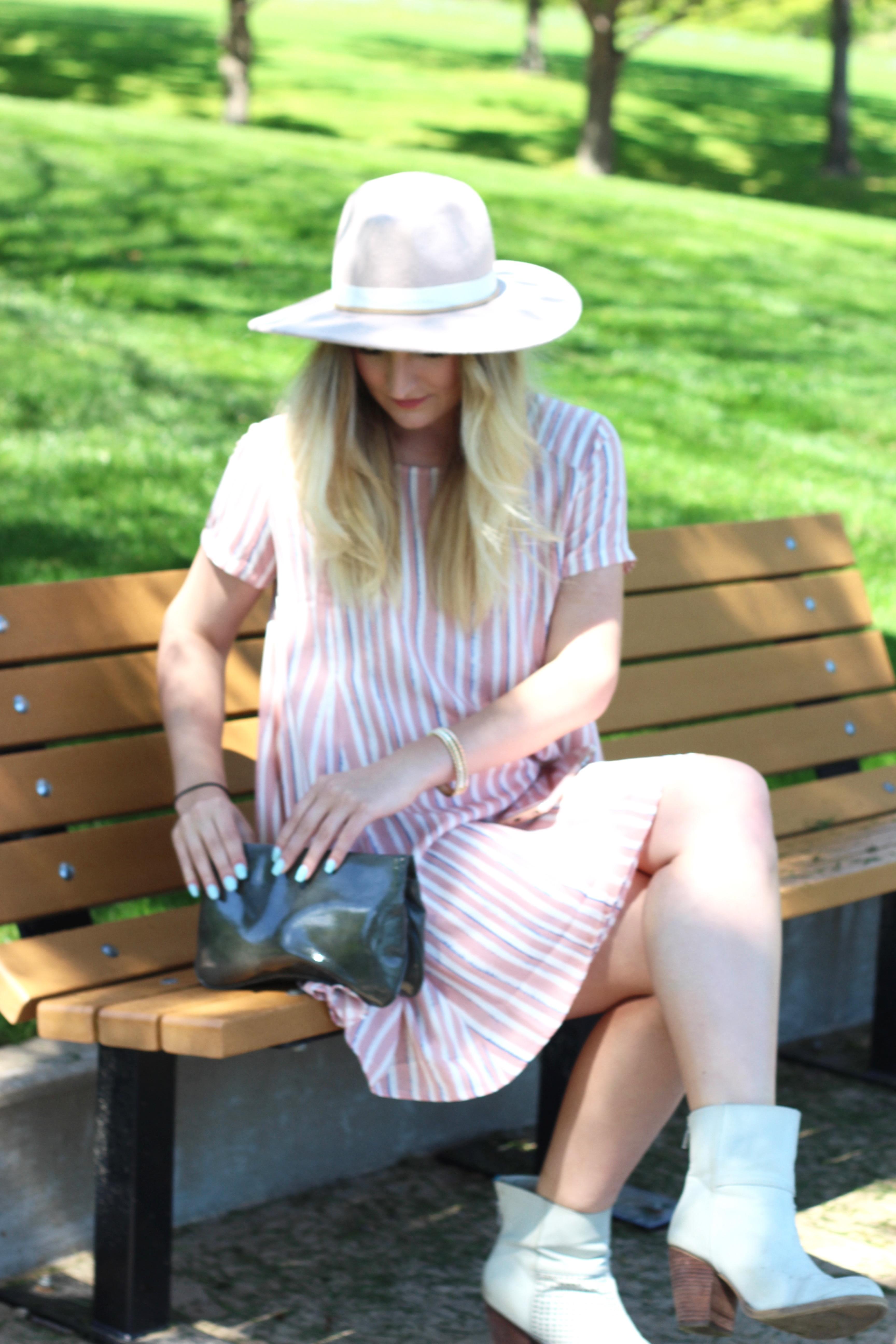 spring pastel bag details