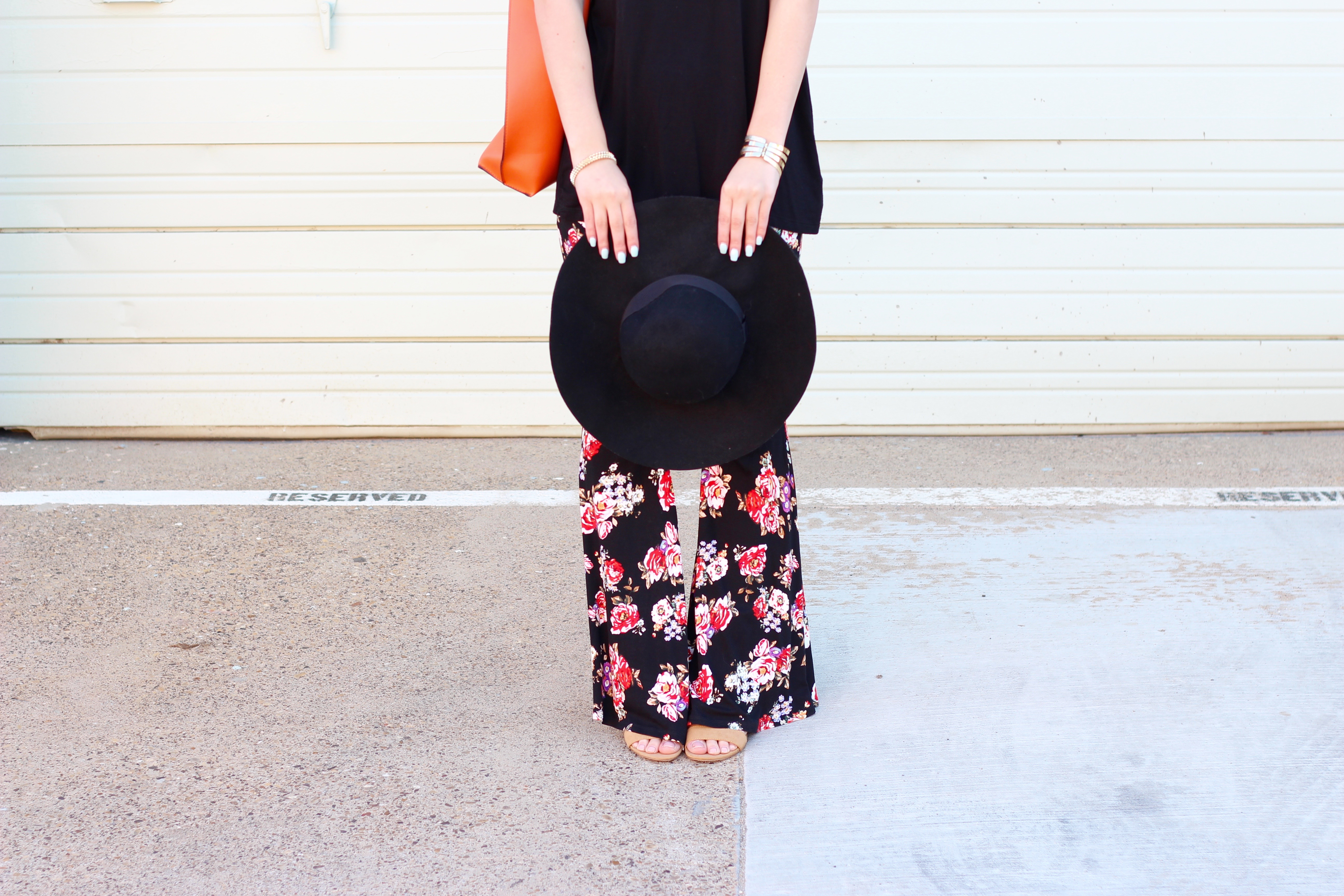 black floppy hat for summer