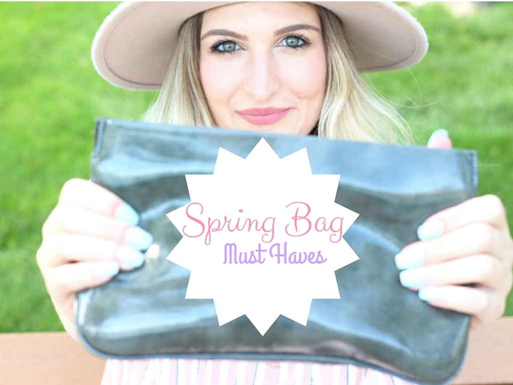 spring bag details and must haves featuring extra gum