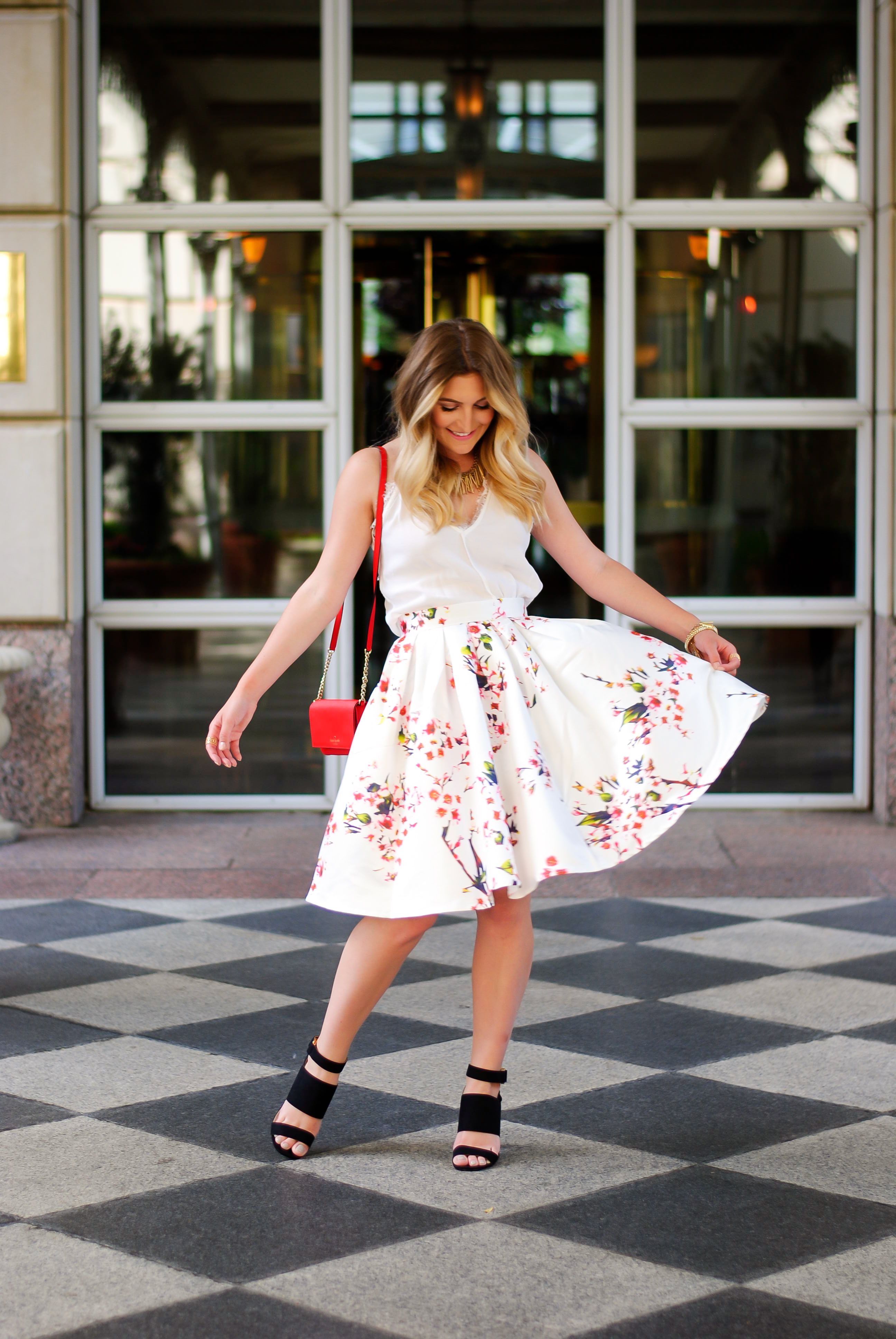 the perfect summer skirt | Audrey Madison Stowe Blog