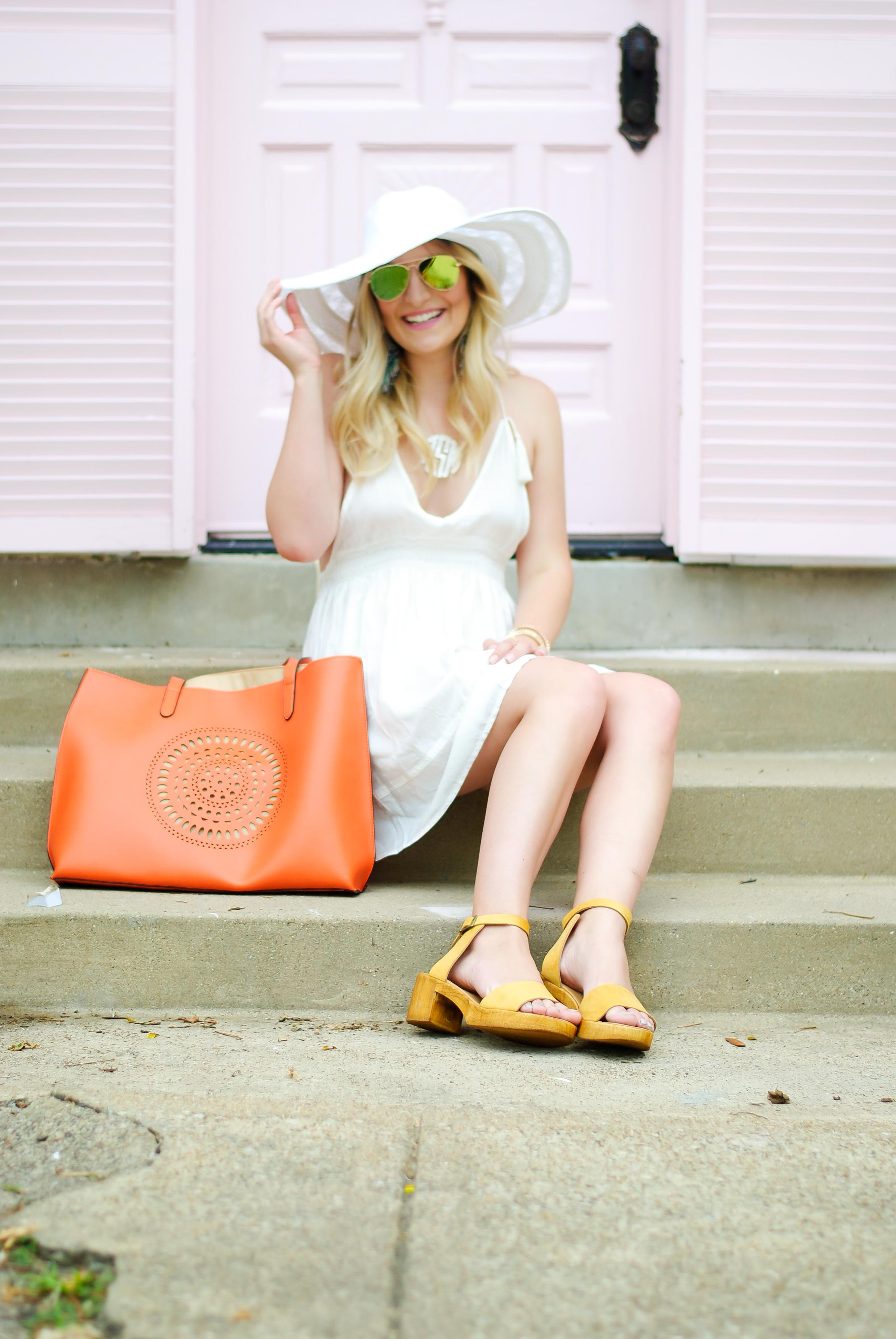 all white resort wear | Audrey Madison Stowe Blog