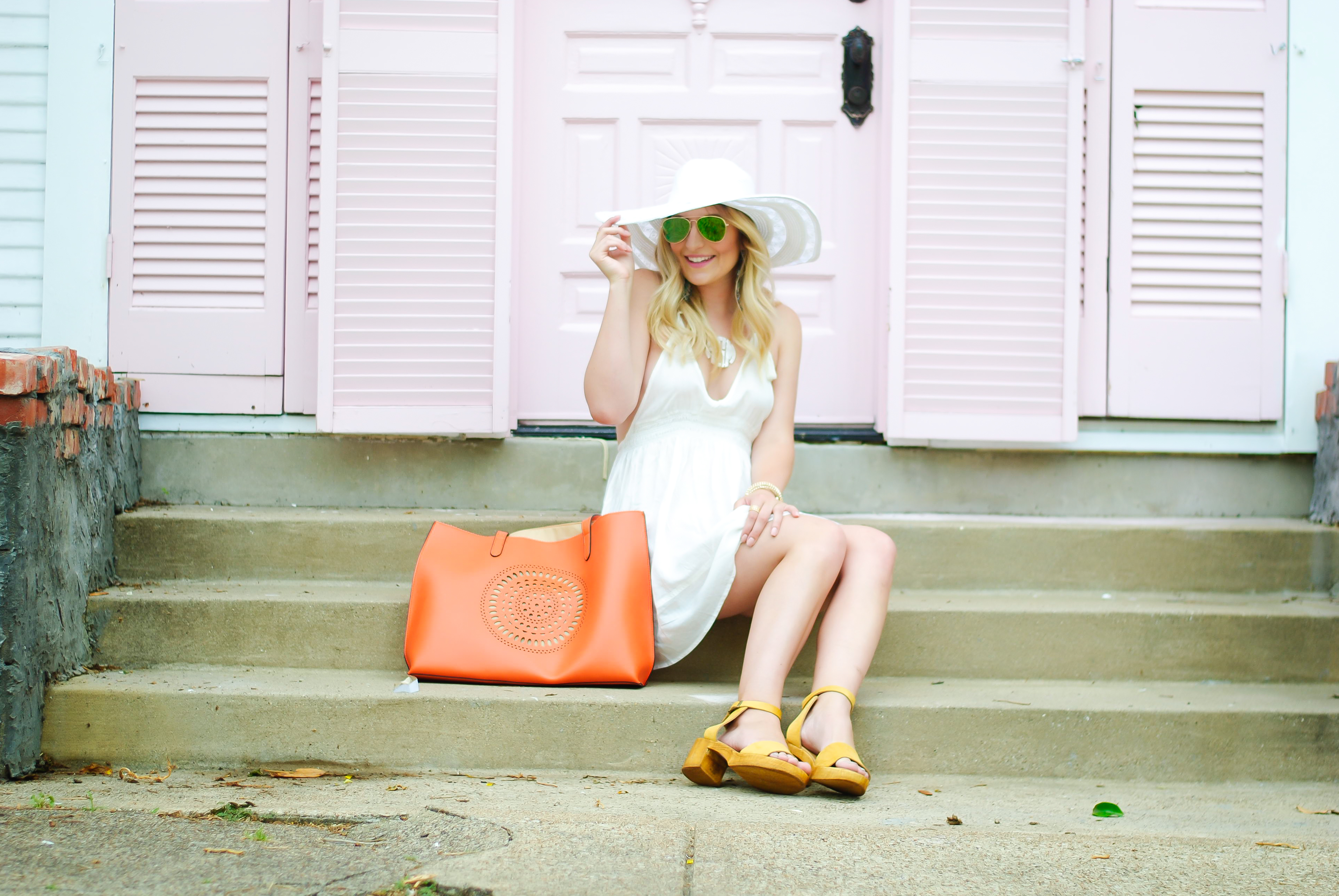 vacation wear with topshop | Audrey Madison Stowe Blog