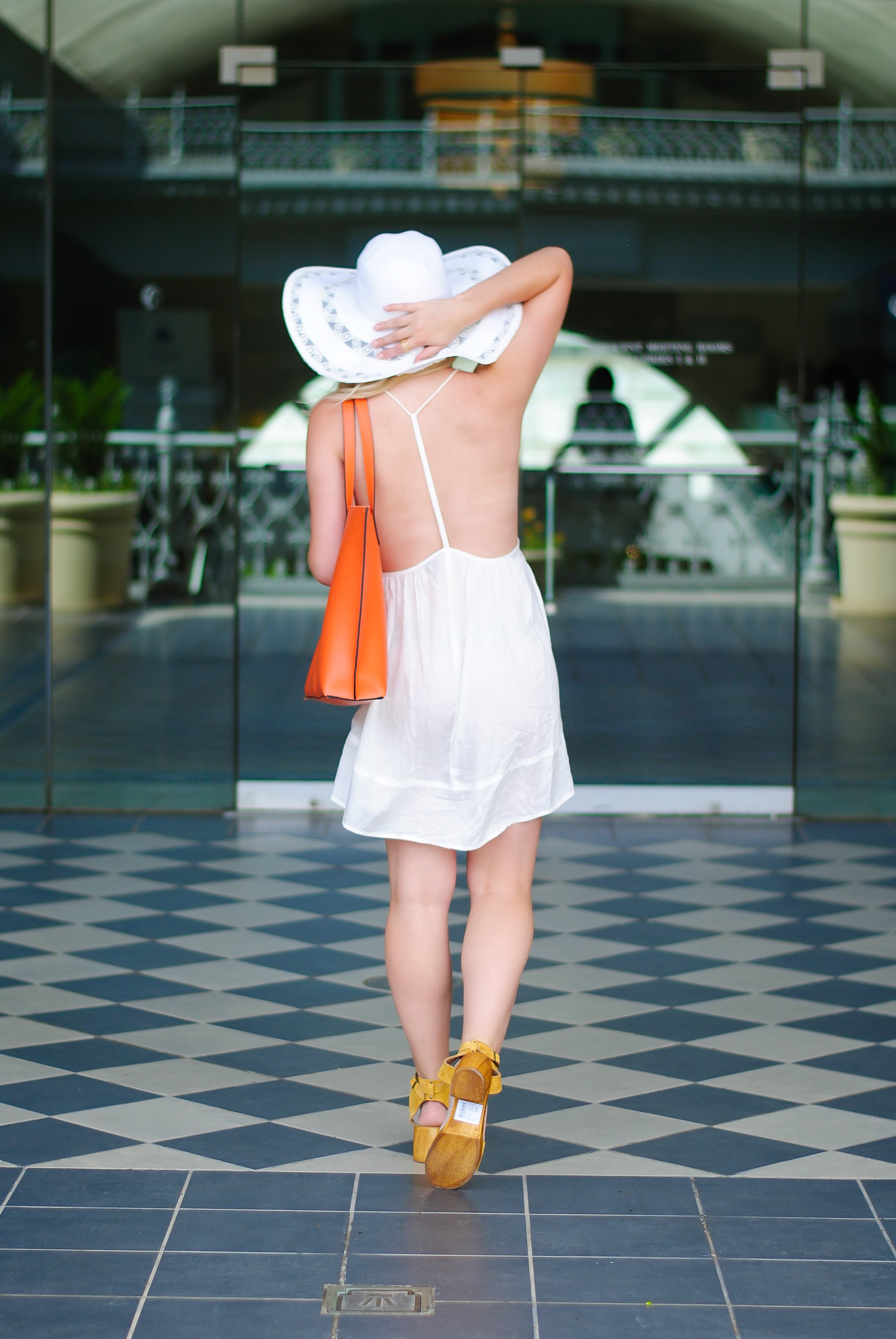 backless resort dress | Audrey Madison Stowe Blog