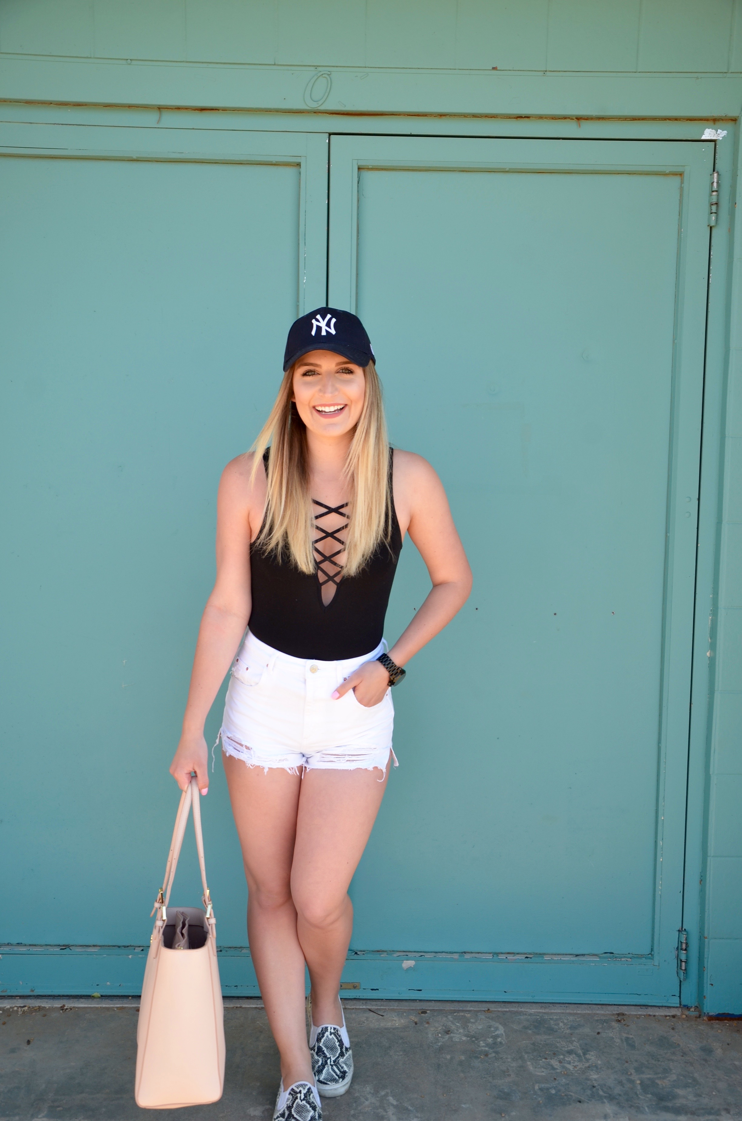 full body outfit of the day - Travel Outfit Of The Day by popular Texas style blogger Audrey Madison Stowe