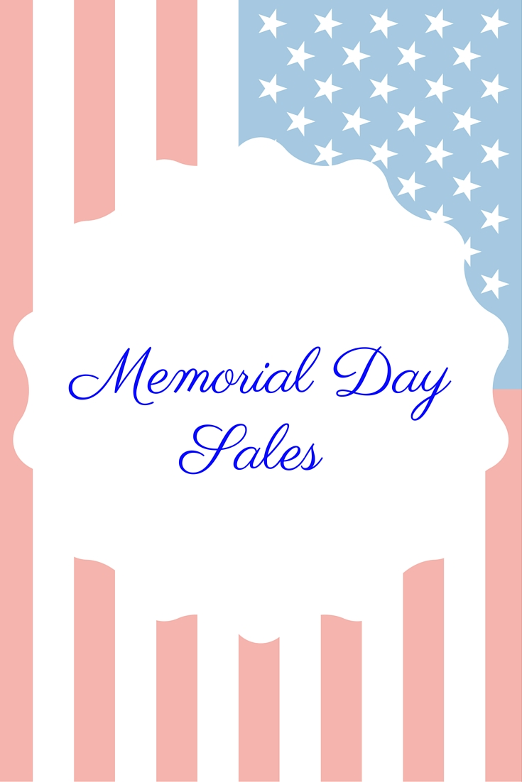 memorial day sales for the weekend