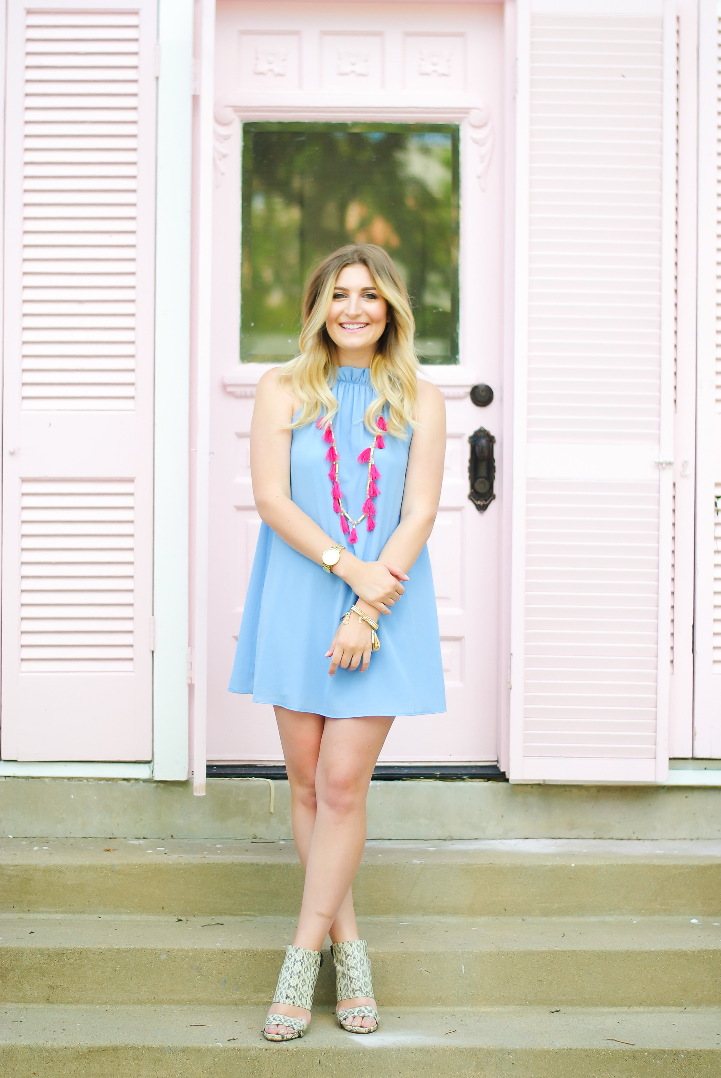 cotton candy colored style | Audrey Madison Stowe Blog