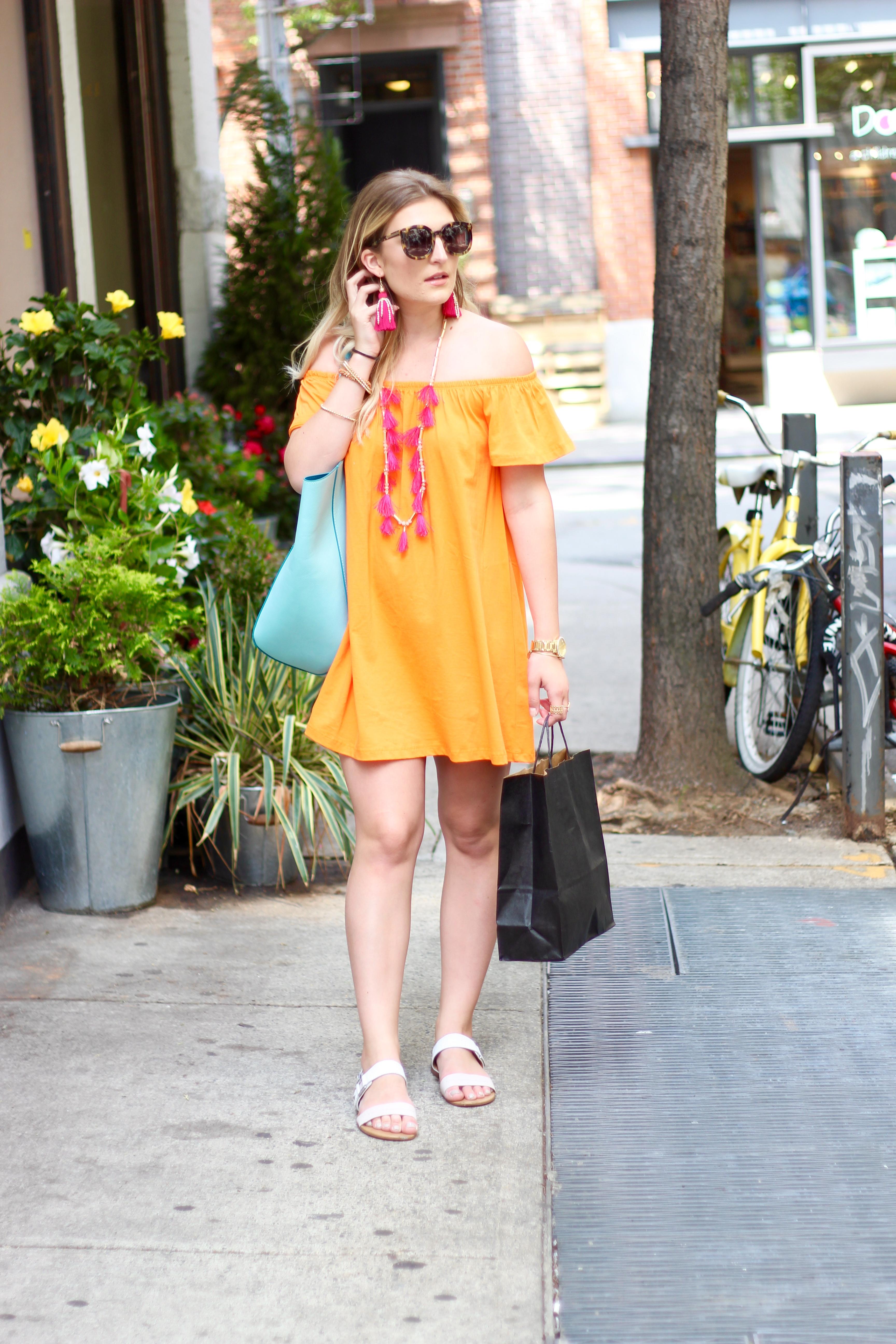 street summer style in soho | Audrey Madison Stowe Blog