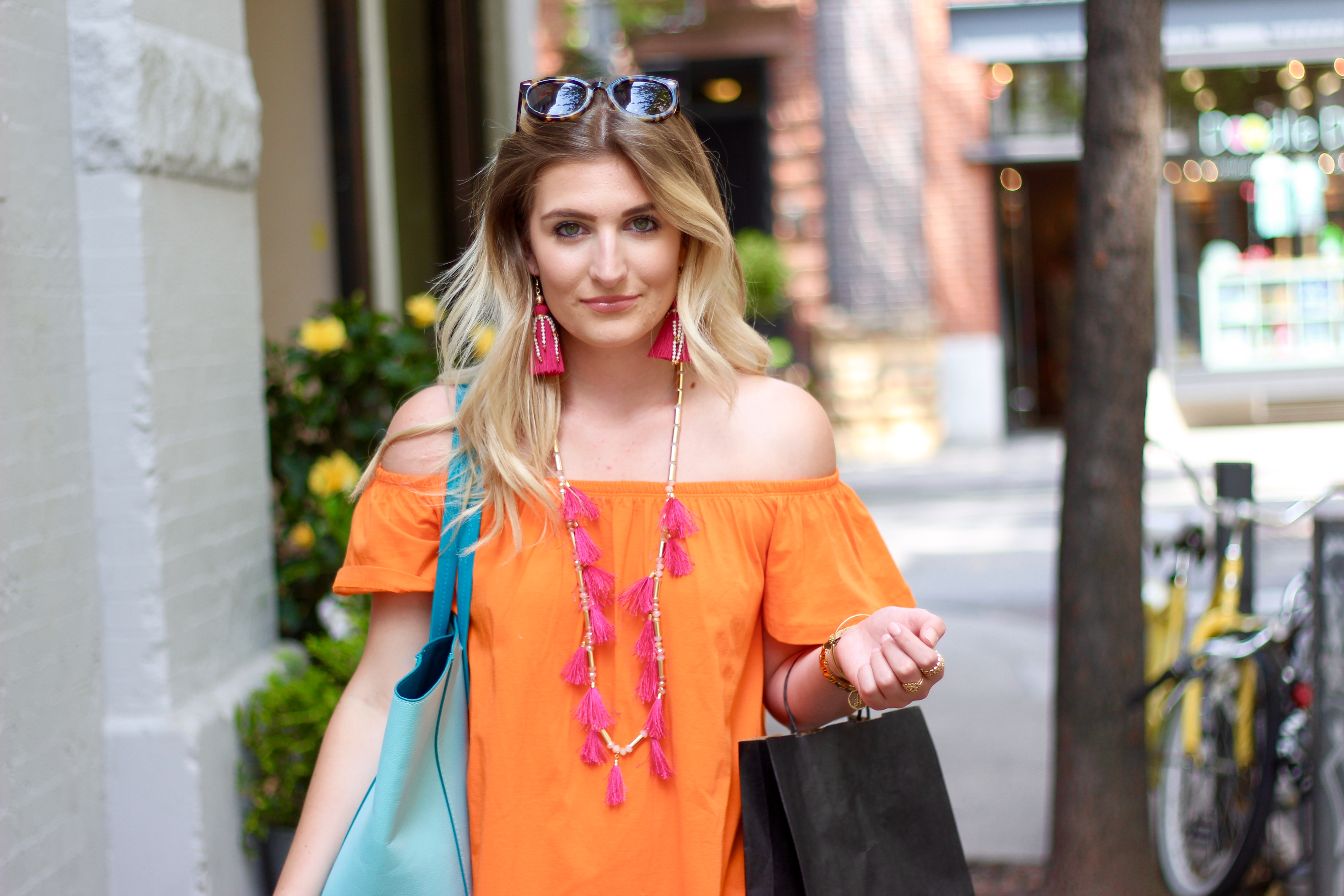 fun summer new york city look | Audrey Madison Stowe Blog
