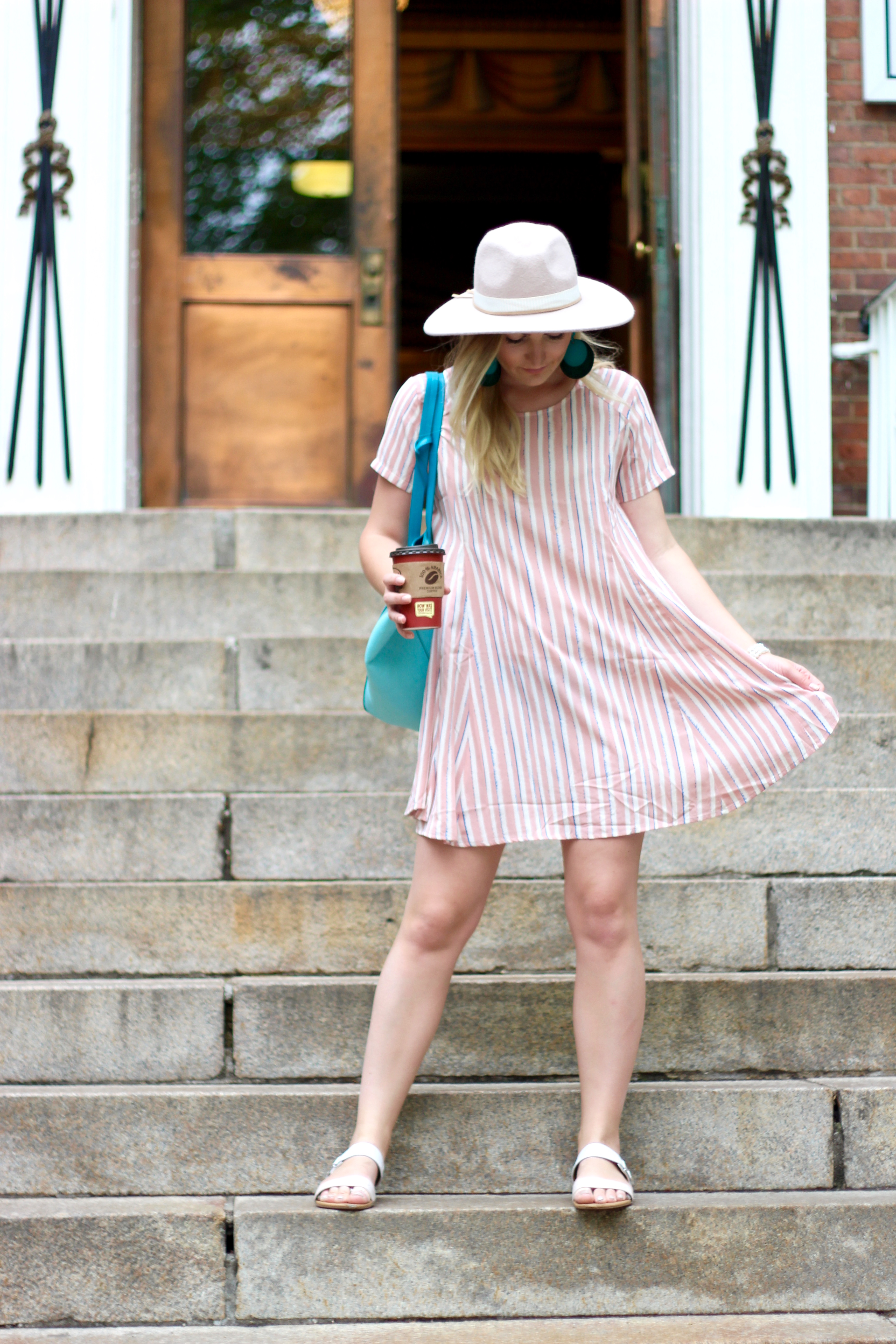 pastel summer dress | Audrey Madison Stowe Blog