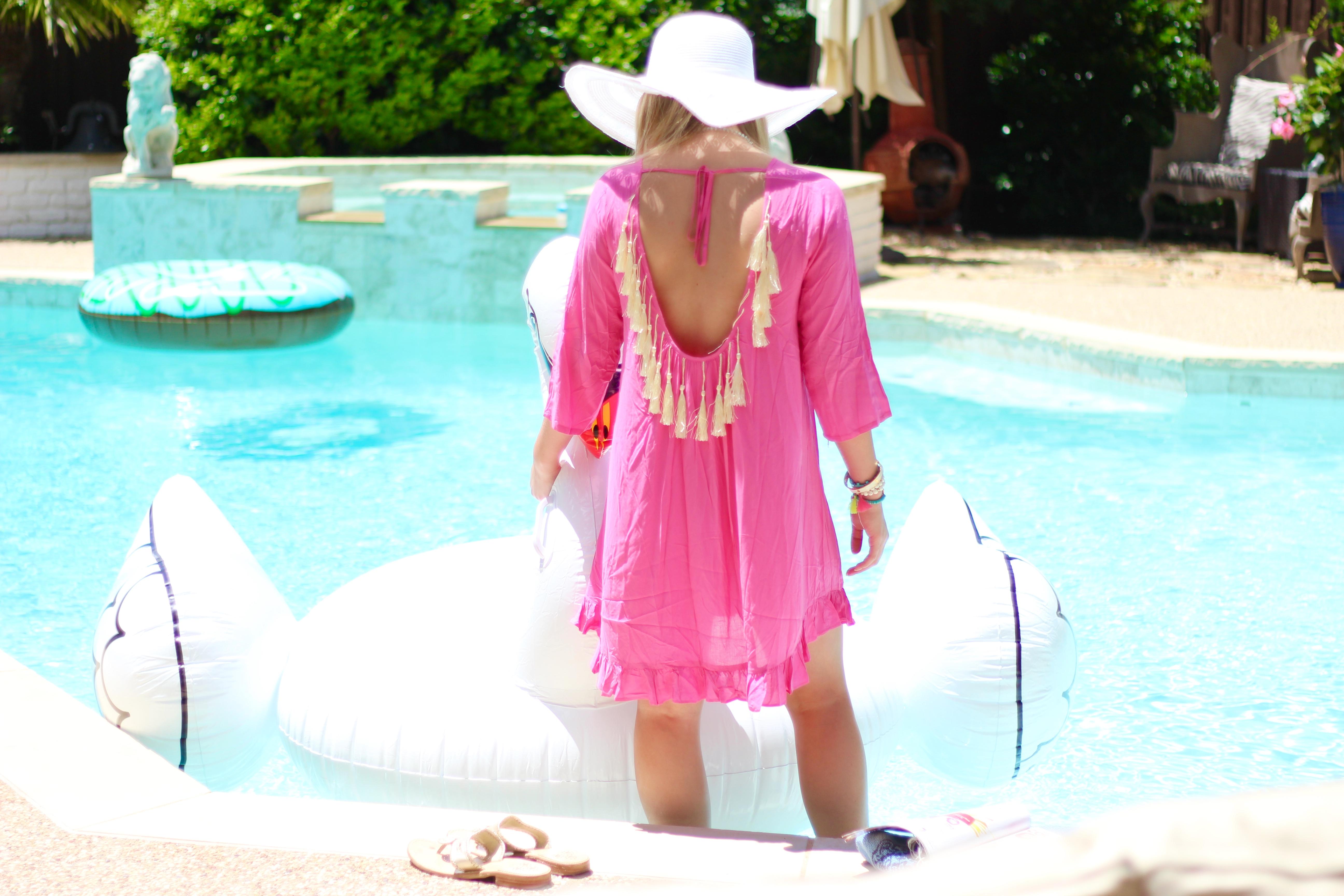 summertime tassel dress | Audrey Madison Stowe Blog