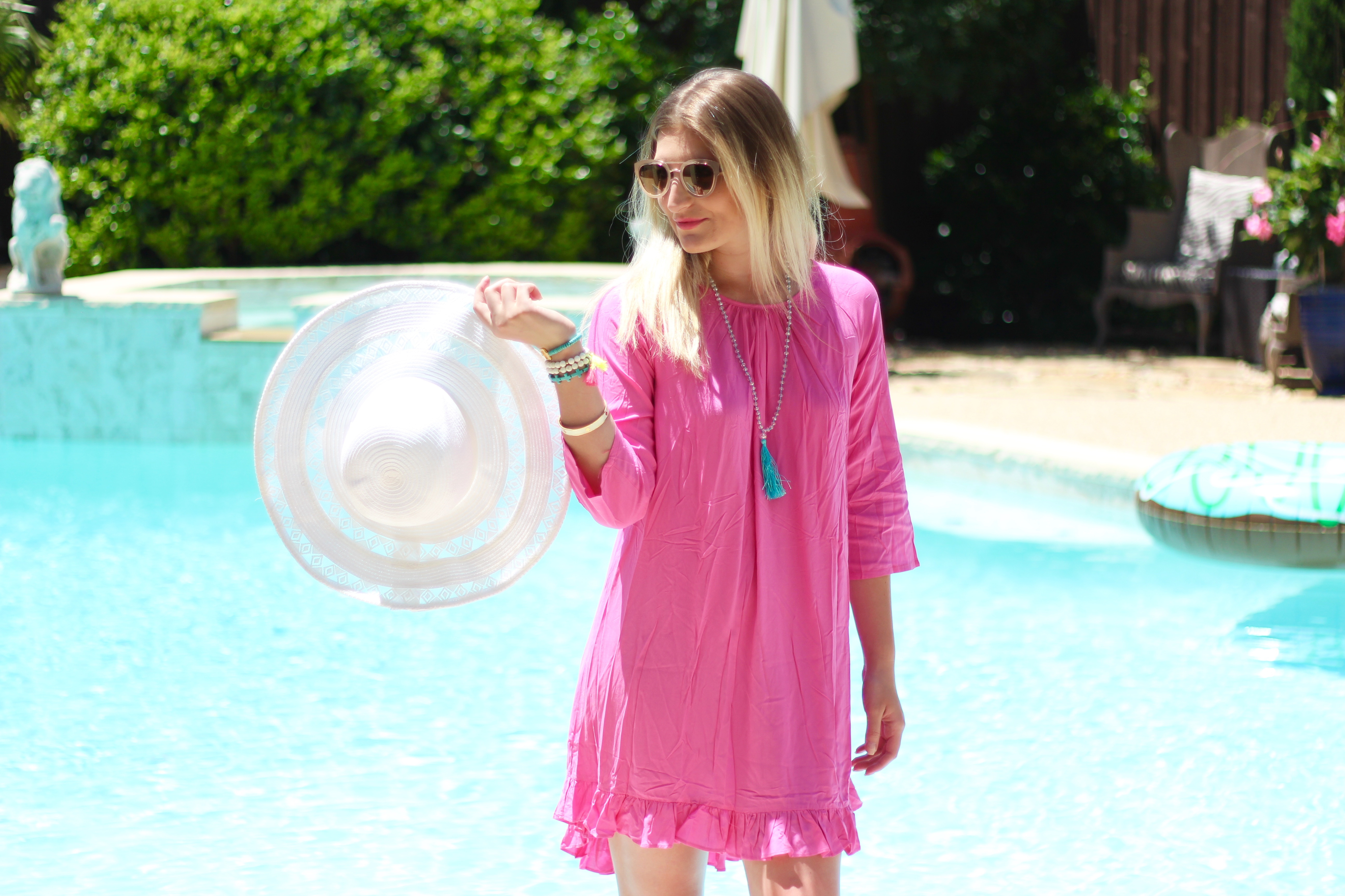 affordable summer coverup with tassels | Audrey Madison Stowe Blog