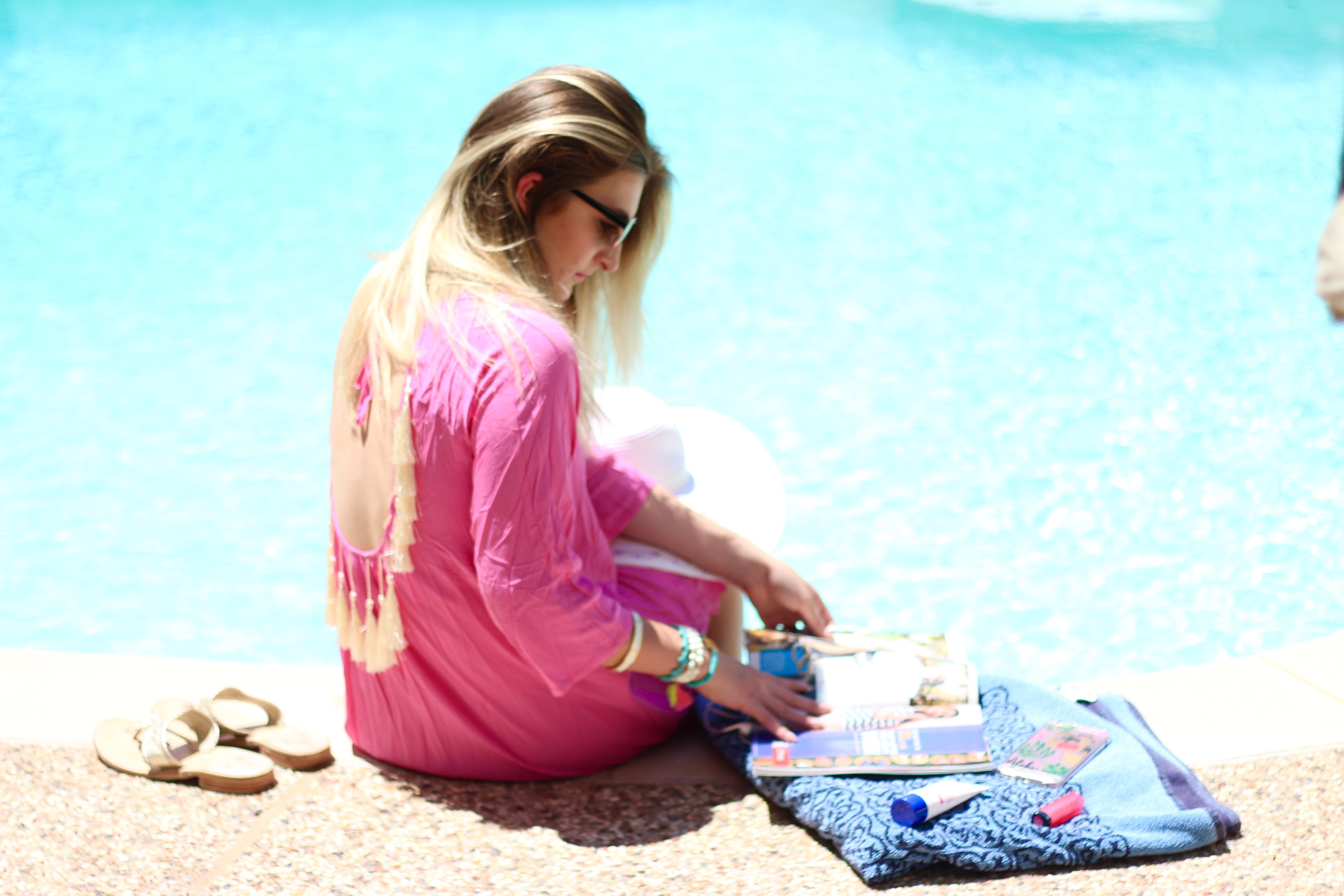 magazine reading and summer time loving | Audrey Madison Stowe Blog
