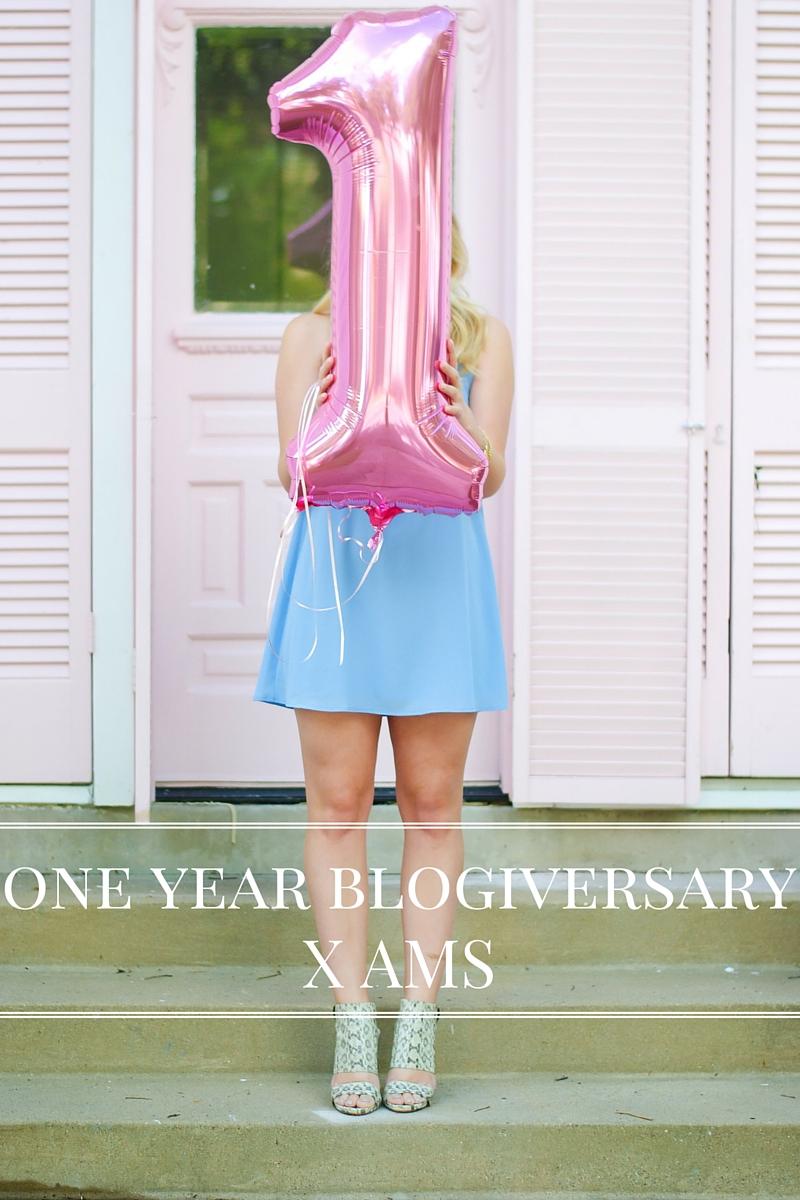 one year blogiversary | Audrey Madison Stowe Blog