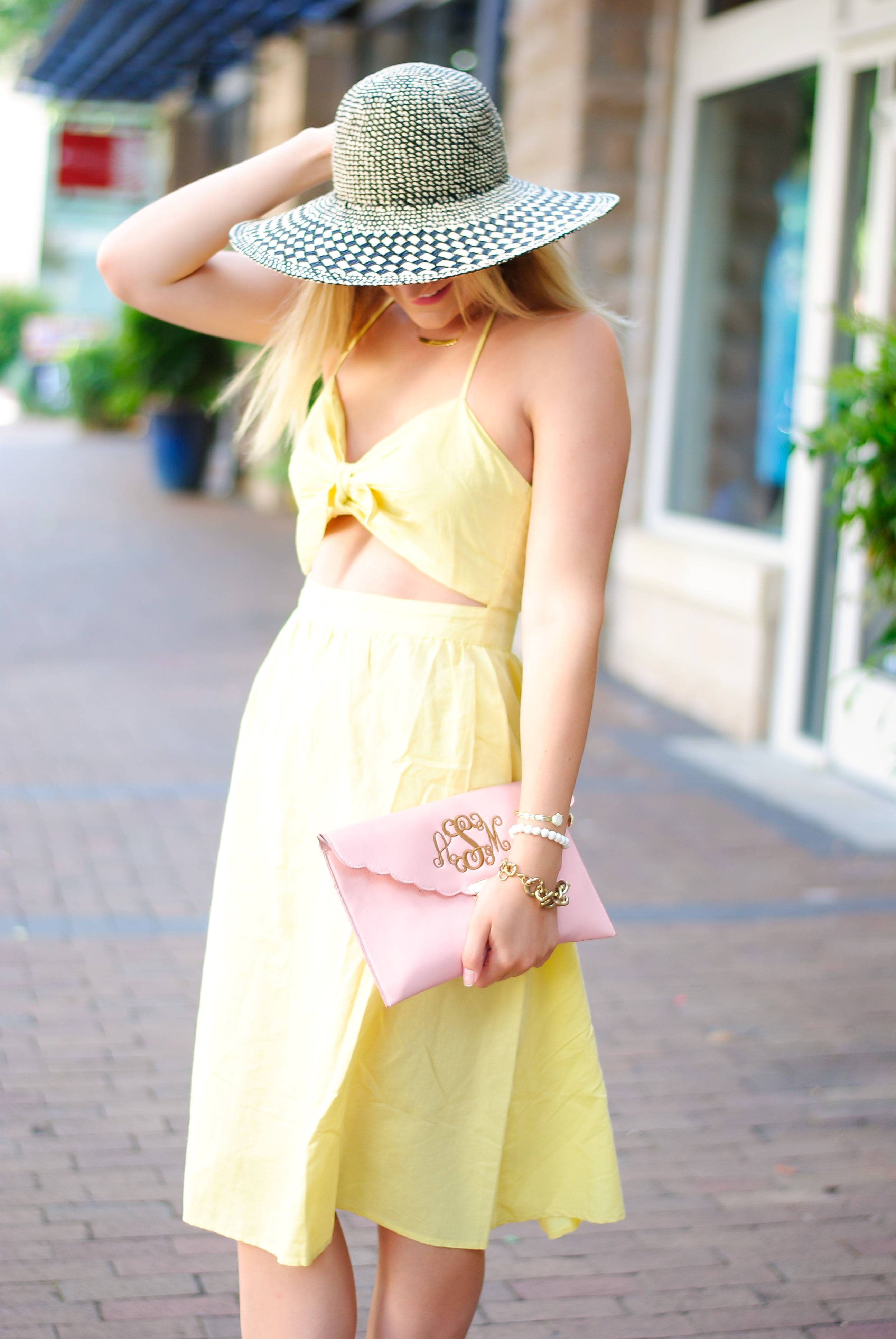 Perfect Sundress with Tobi | AMS Blog - The Perfect Sundress styled by popular Texas fashion blogger, Audrey Madison Stowe