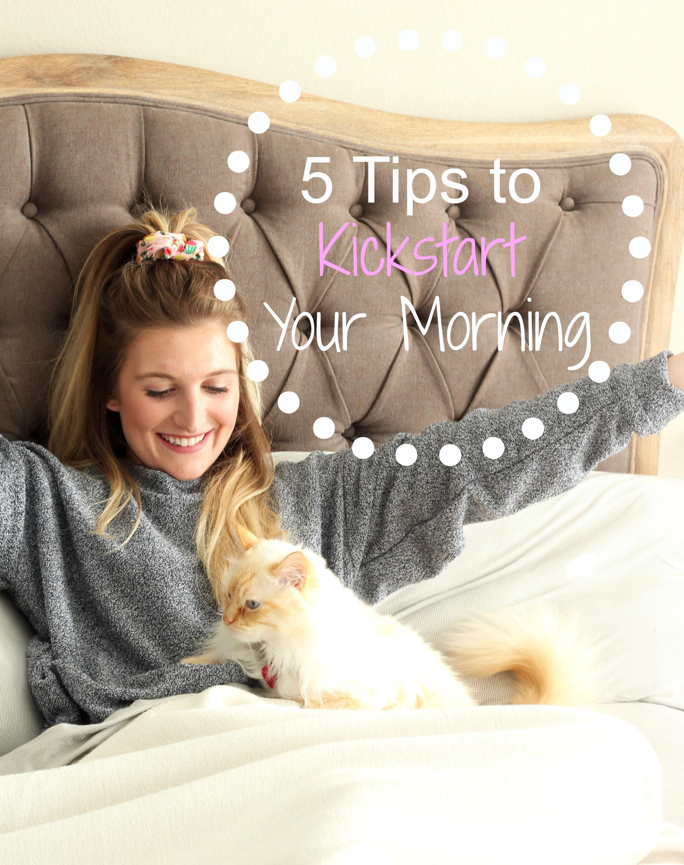 5 Tips to Kickstart your Morning | AMS Blog
