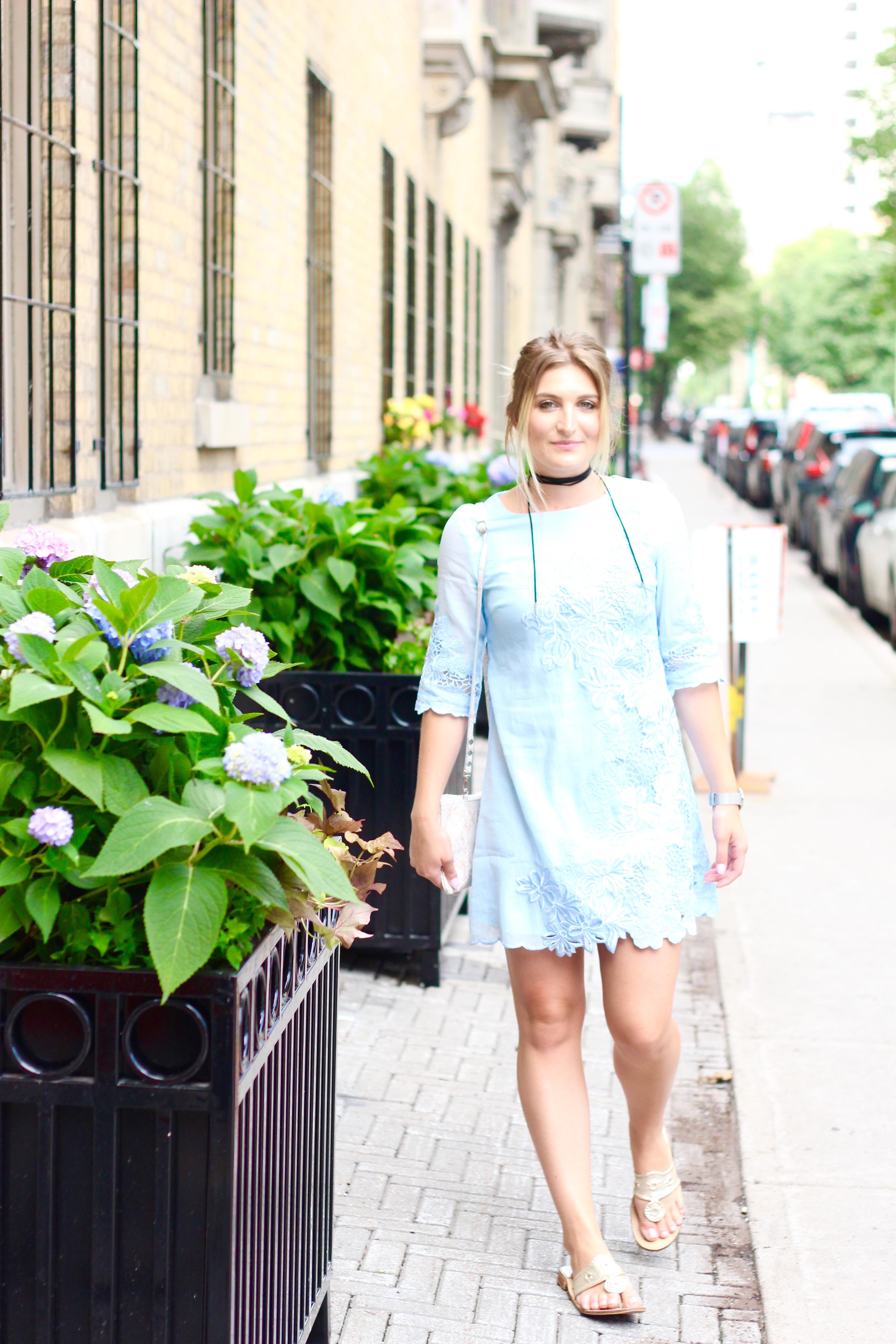 Feminine Lace Dress | AMS Blog