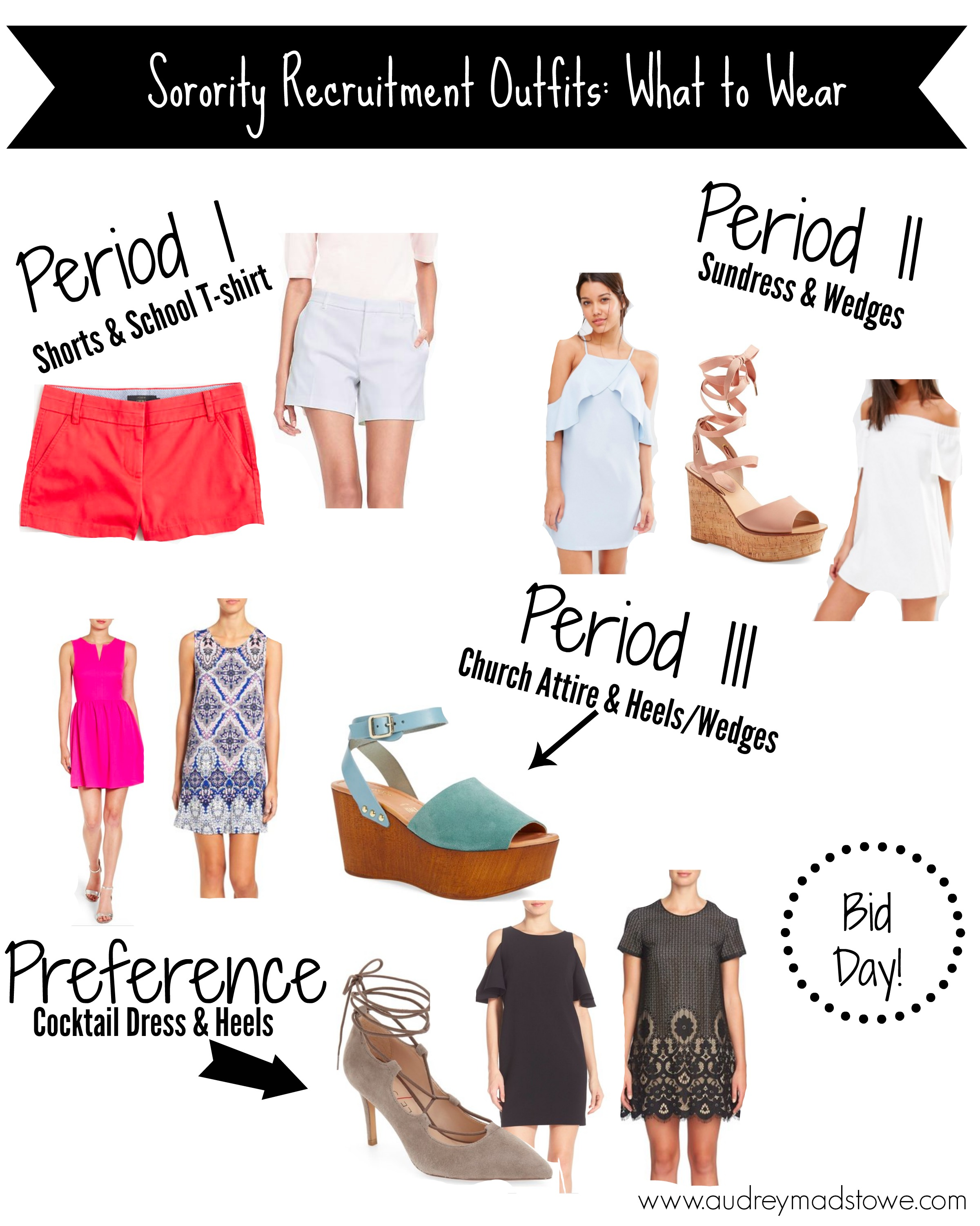What to Wear: Sorority Recruitment | AMS Blog