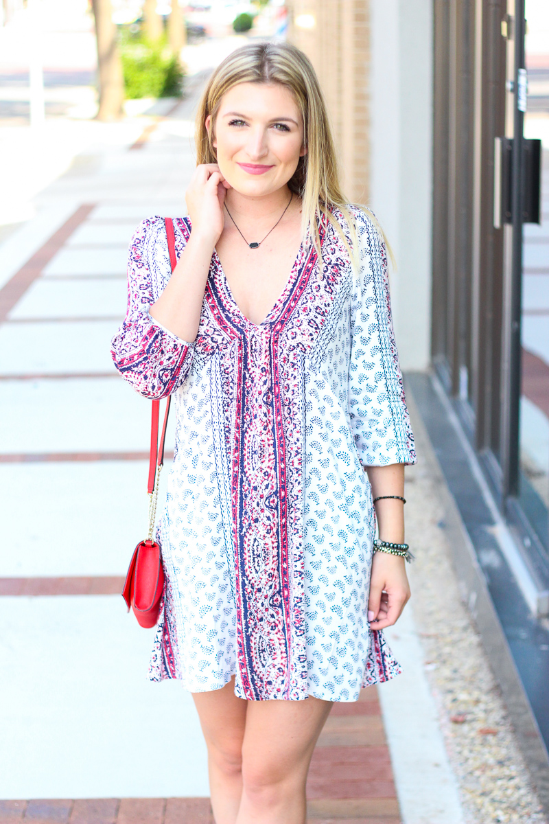 Babydoll Fall Dress | AMS Blog