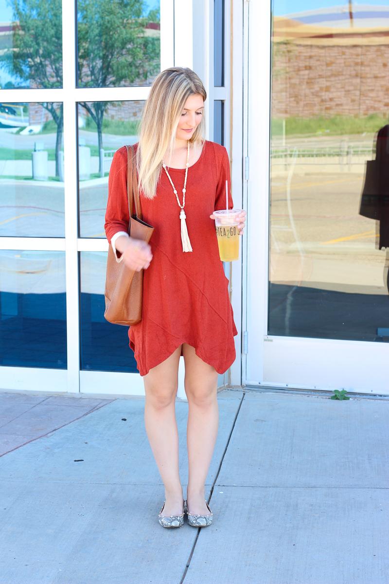 Fall Errands Dress