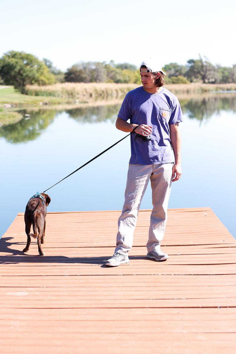 Insta boyfriend & pup | AMS Blog