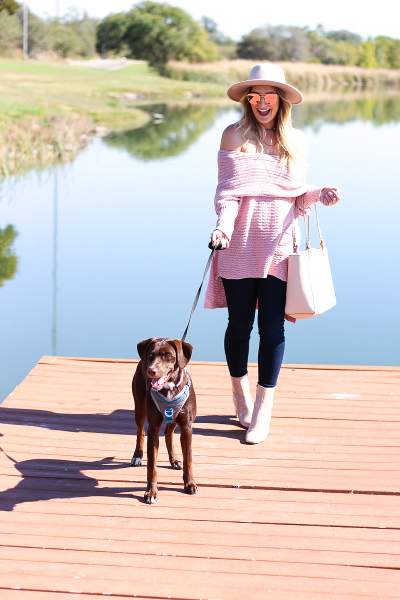Blush OTS top + A day in Lubbock | AMS Blog