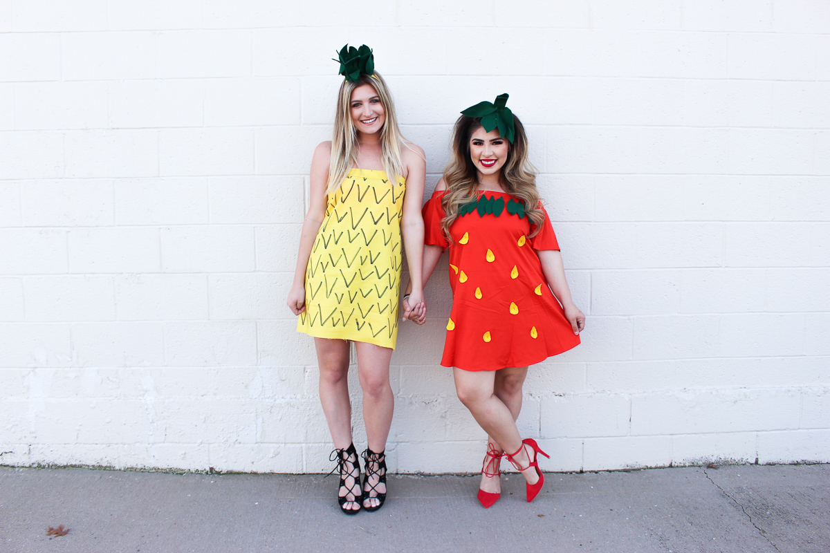 Strawberry & Pineapple Halloween Costume | AMS Blog