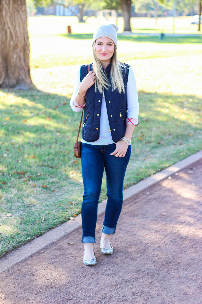 Casual Day: Burberry + Vest | AMS Blog