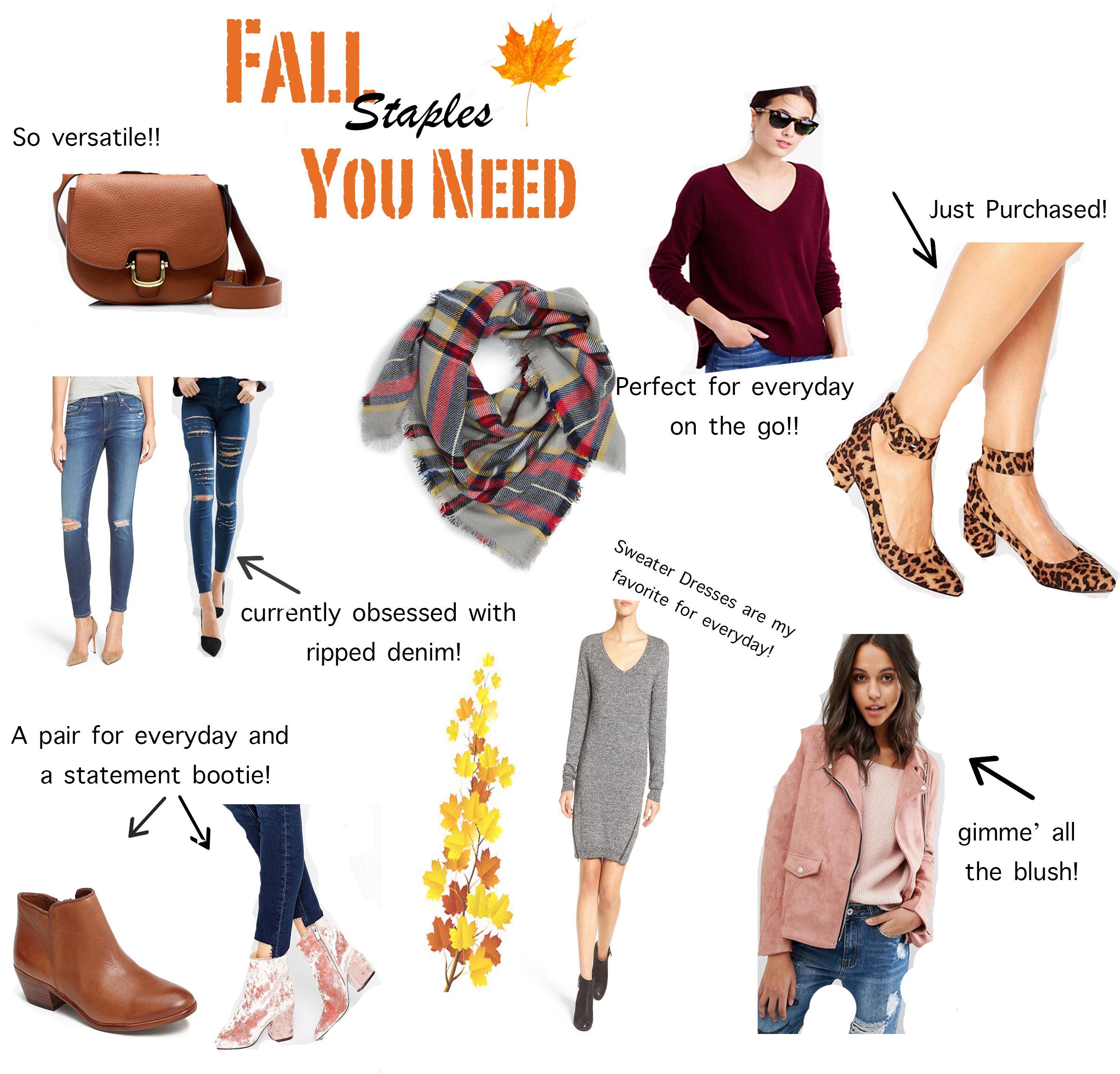 Fall Staples Everyone Needs