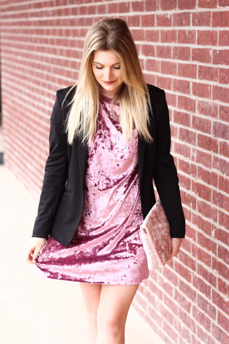 Velvet Holiday Look | AMS Blog